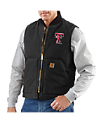 Men's Texas Tech Sandstone Vest/Arctic-Quilt Lined