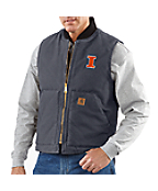 Men's Illinois Sandstone Vest/Arctic-Quilt Lined