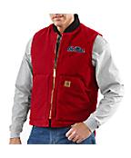 Men's Mississippi Sandstone Vest/Arctic-Quilt Lined