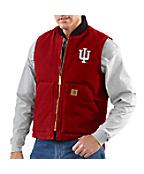 Men's Indiana Sandstone Vest/Arctic-Quilt Lined