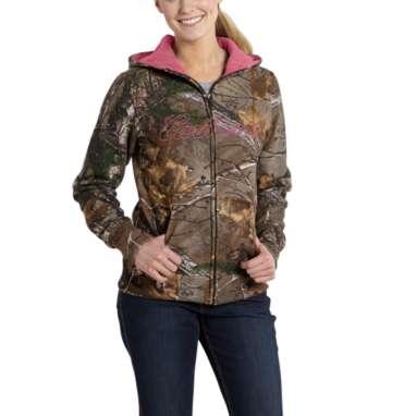 Women's Clarksburg Camo Zip Front Jacket by Carhartt