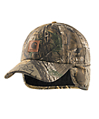 Men's Camo Ear Flap Cap
