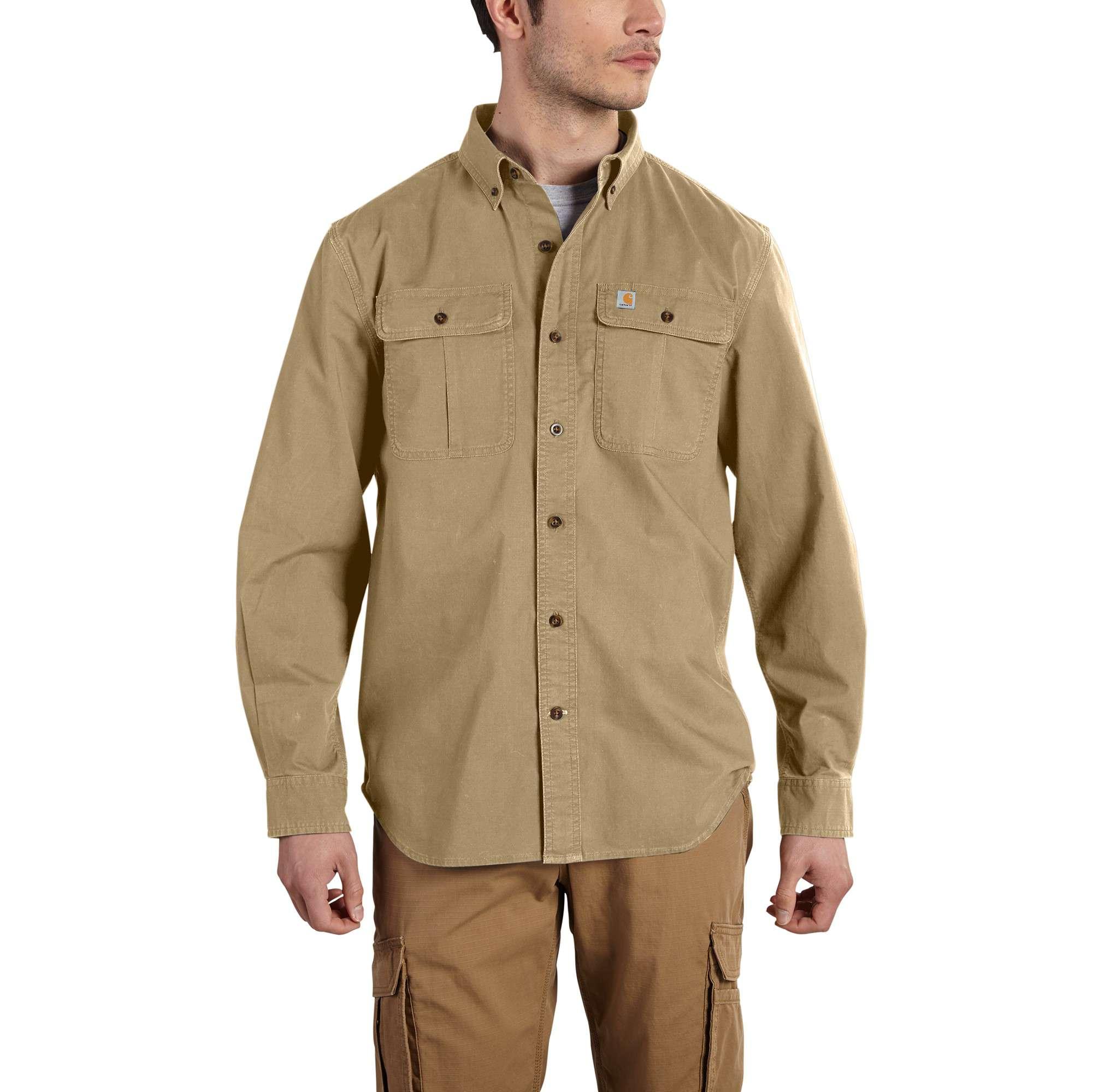 Carhartt Foreman Solid Long-sleeve Work Shirt