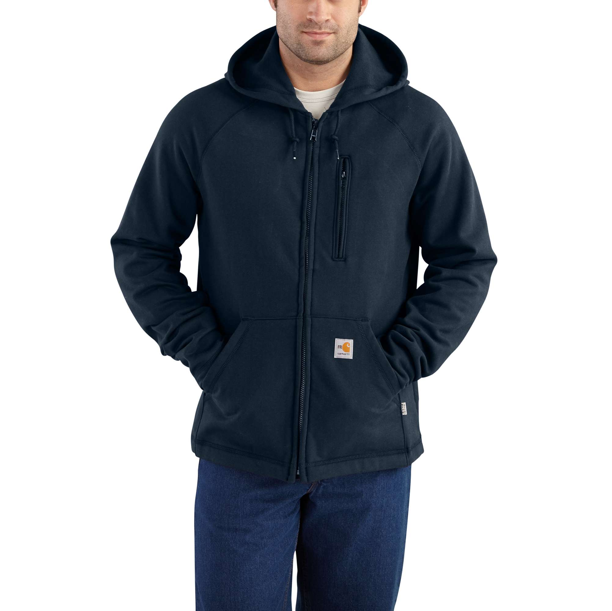 Carhartt Flame-Resistant Carhartt Force Hooded Full-Zip Fleece