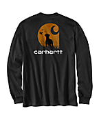 Men�s Graphic Carhartt Dogs Long-Sleeve T-Shirt
