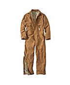 Men's Flame-Resistant Duck Coverall/Quilt-Lined