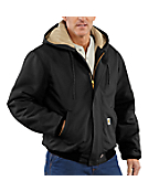 Men's  Flame-Resistant Duck Active Jac/Quilt-Lined