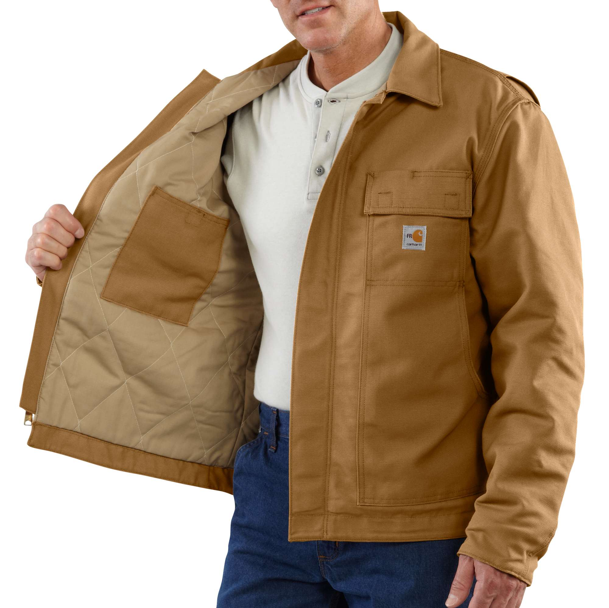 Carhartt Flame-Resistant Lanyard Access Jacket/Quilt-Lined