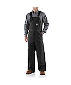 Men's Flame-Resistant Midweight Bib Overall/Quilt Lined