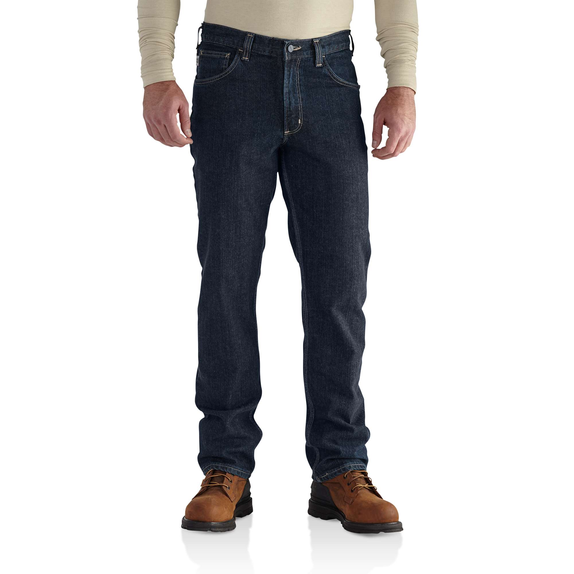 Carhartt Flame-Resistant Rugged Flex Jean - Straight Traditional Fit