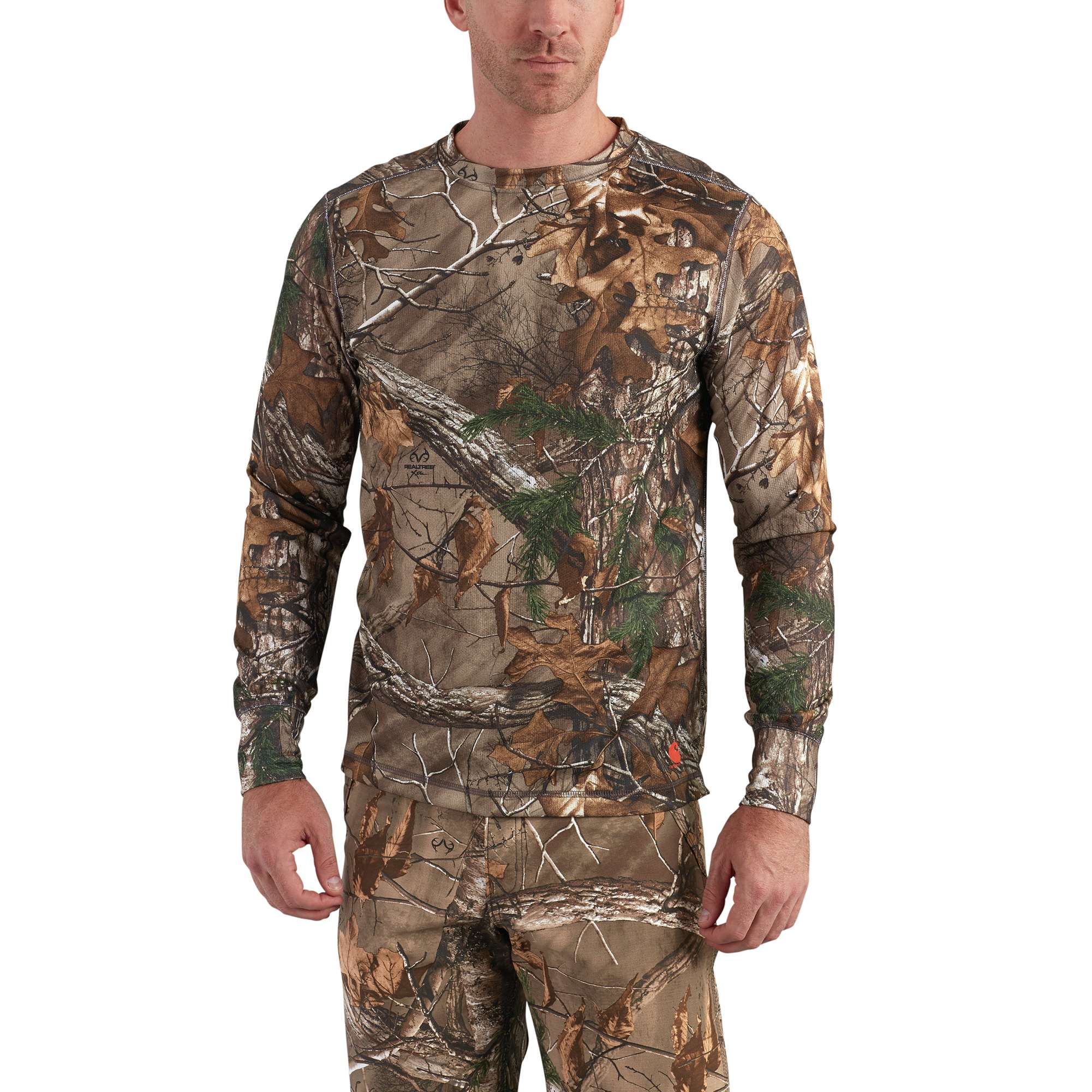 Carhartt Base Force Extremes Cold Weather Camo Crewneck