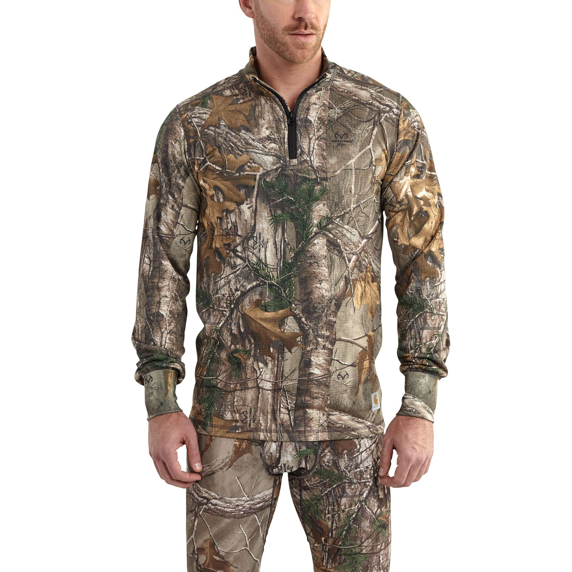Carhartt Carhartt Base Force Extremes Cold Weather Camo Quarter-zip