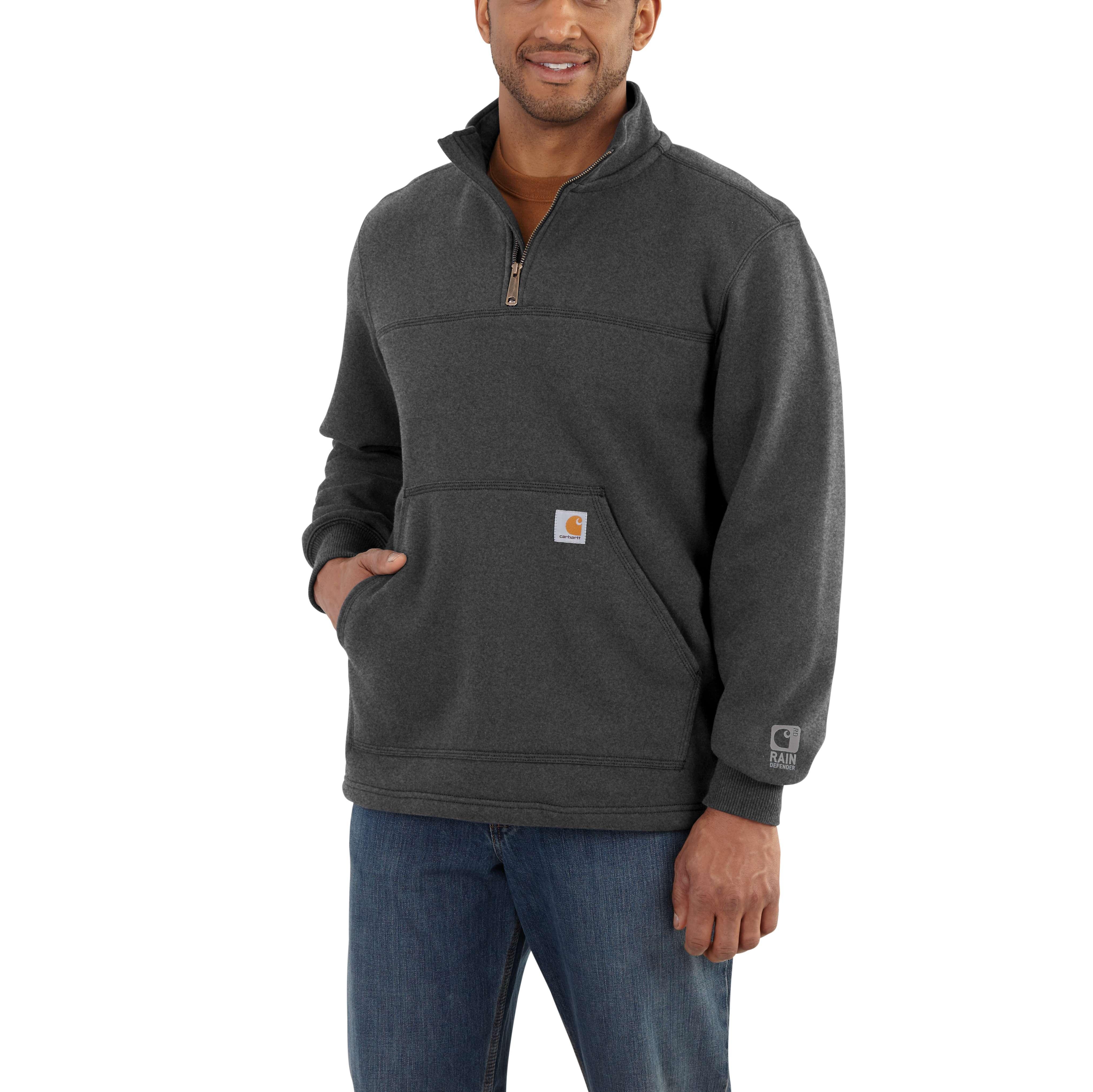 Carhartt Rain Defender Paxton Heavyweight Quarter-Zip Sweatshirt