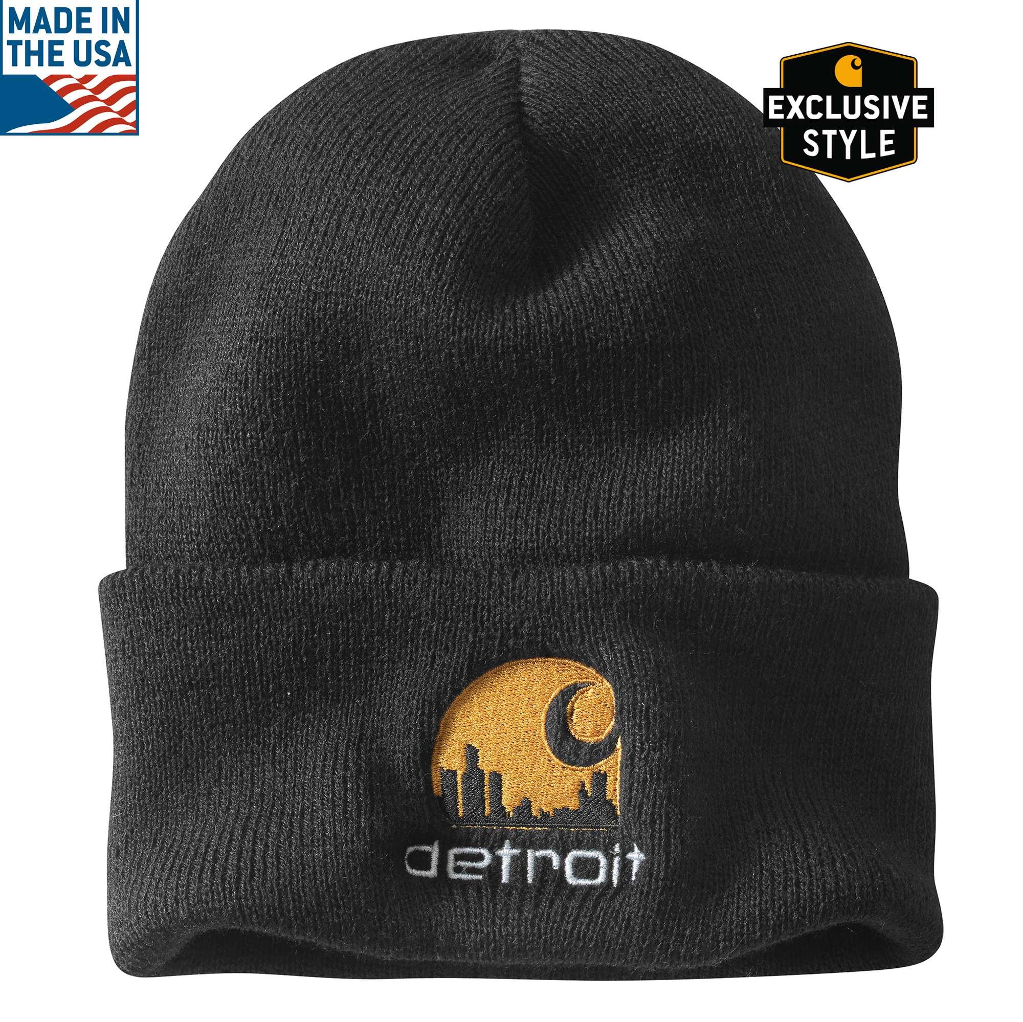 Carhartt Special Edition Detroit Acrylic Watch Hat