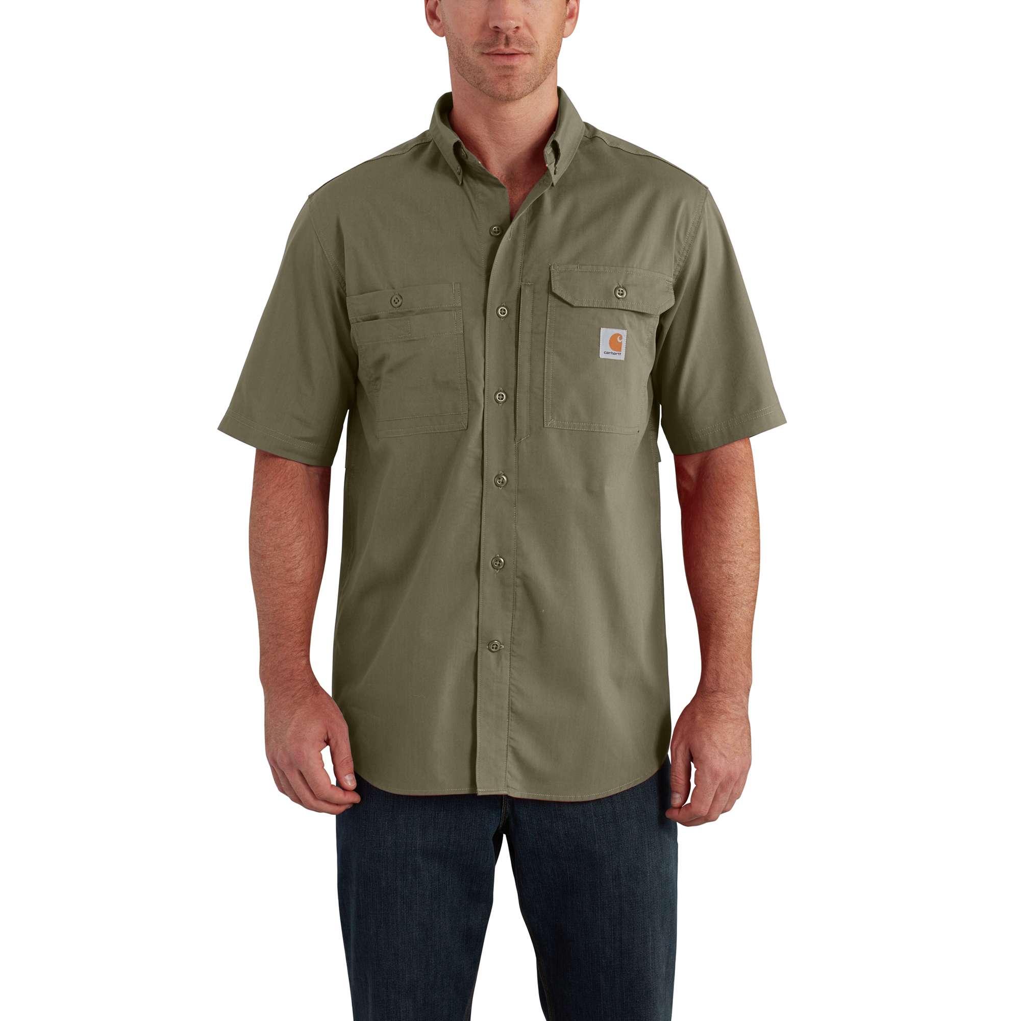 Carhartt Carhartt Force Ridgefield Solid Short Sleeve Shirt