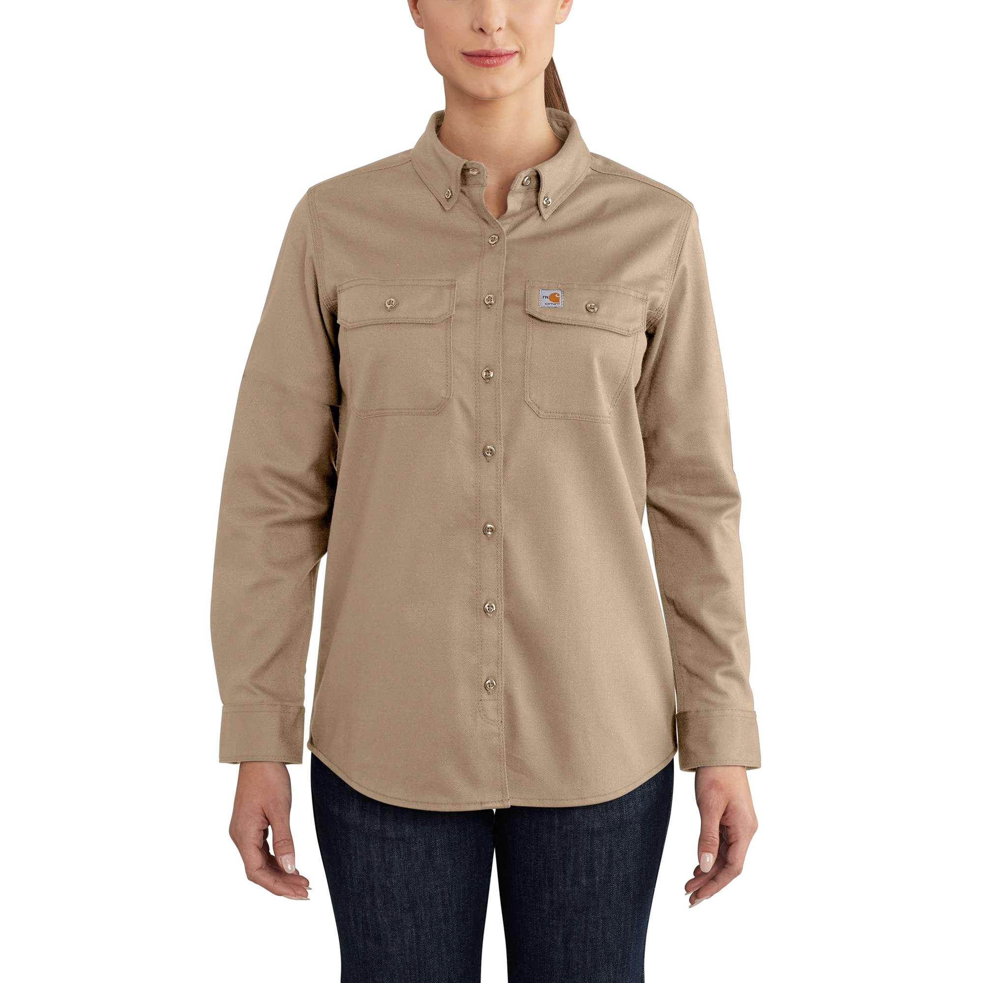 Carhartt Women's FR Rugged Flex Twill Shirt