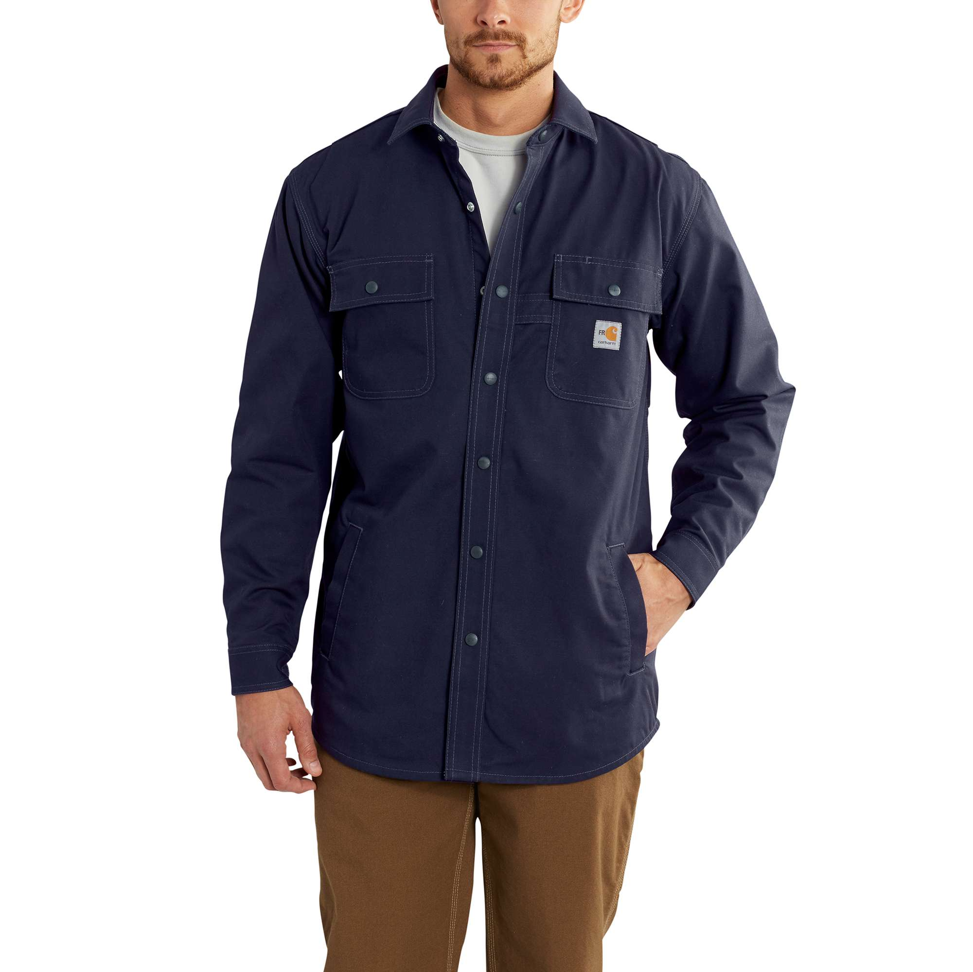Carhartt Flame-Resistant Full Swing Quick Duck Shirt Jac