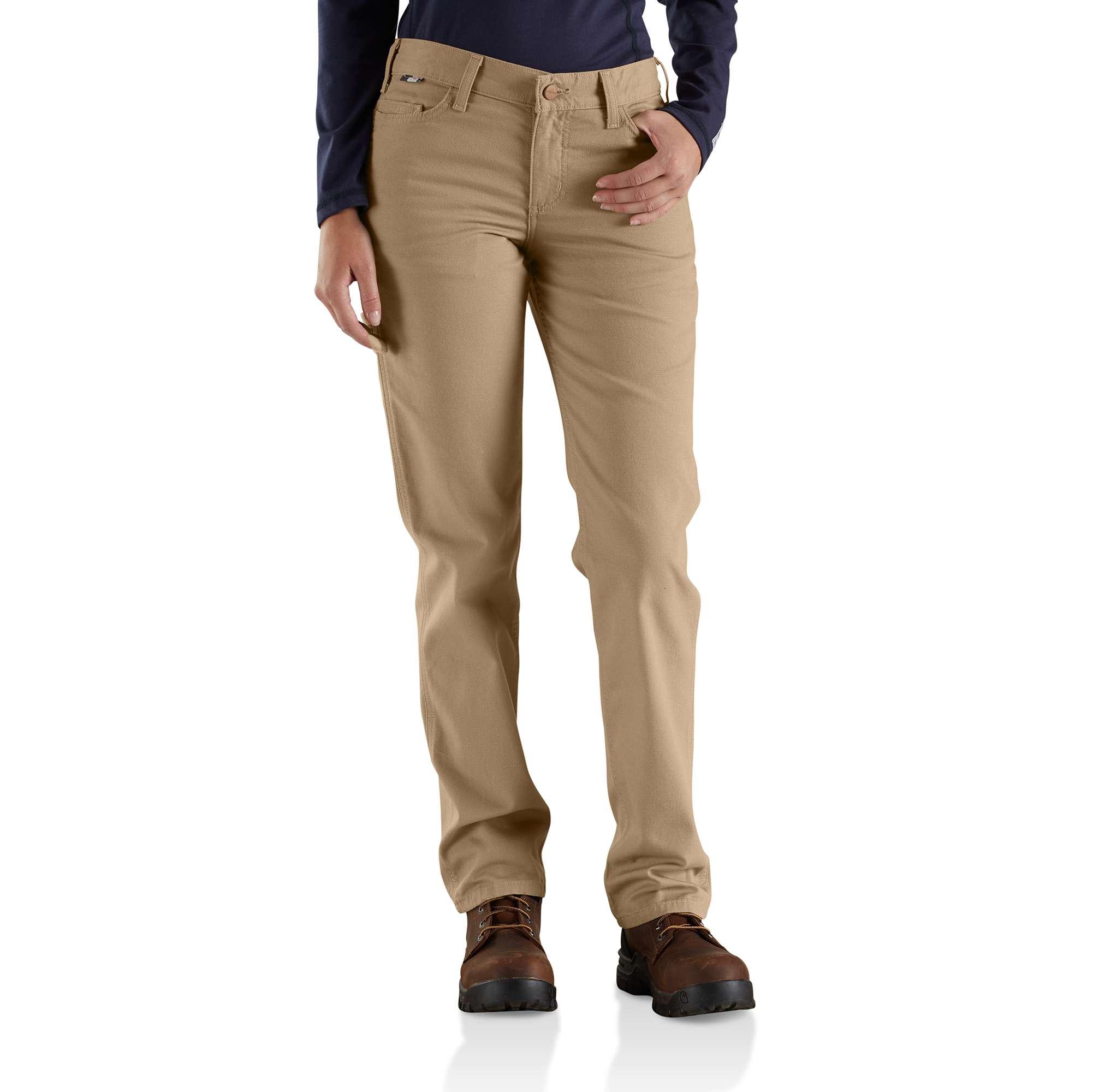 Carhartt Women's Fr Original-fit Rugged Flexcanvas Pant