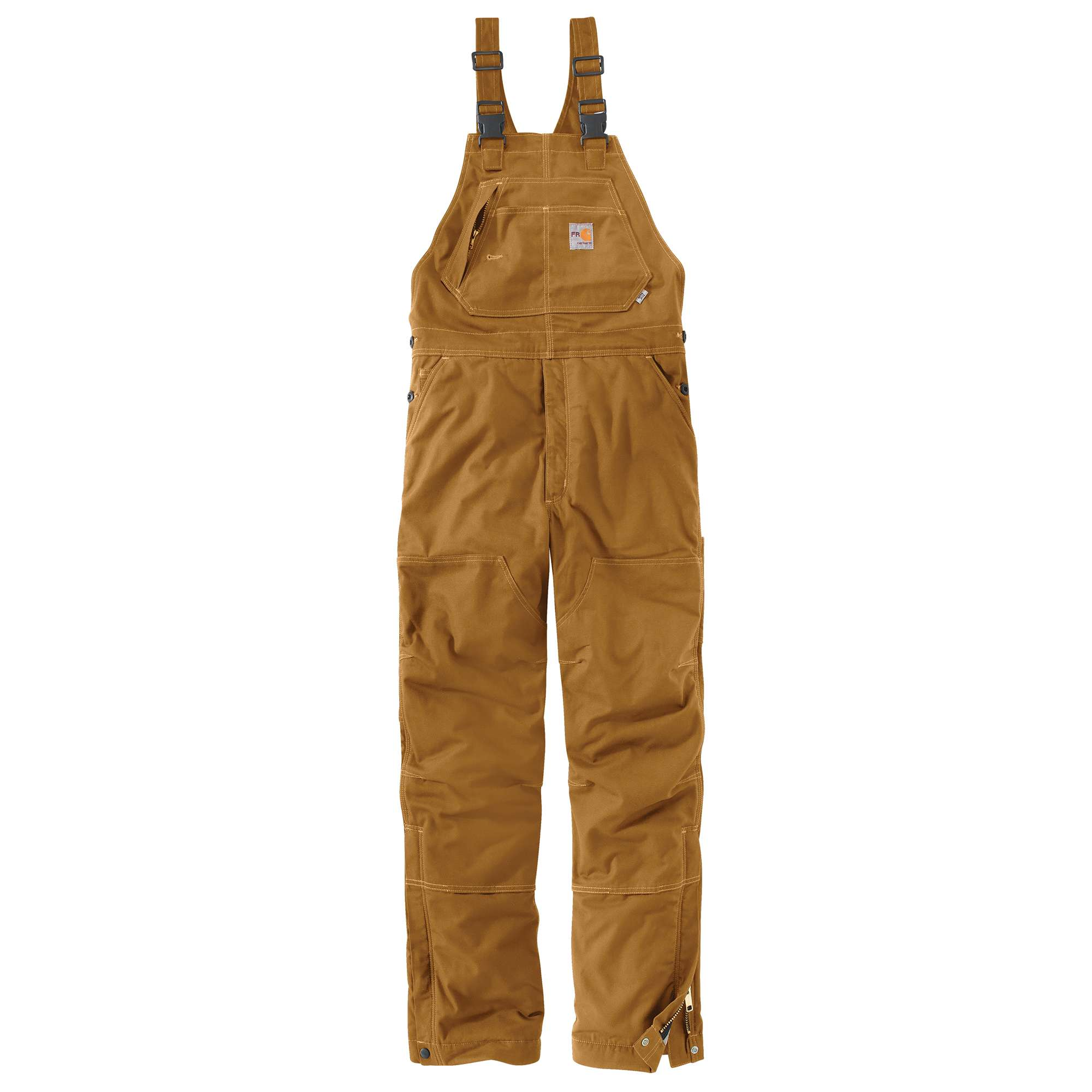 Carhartt Flame-Resistant Quick Duck Bib Overall/Quilt-Lined