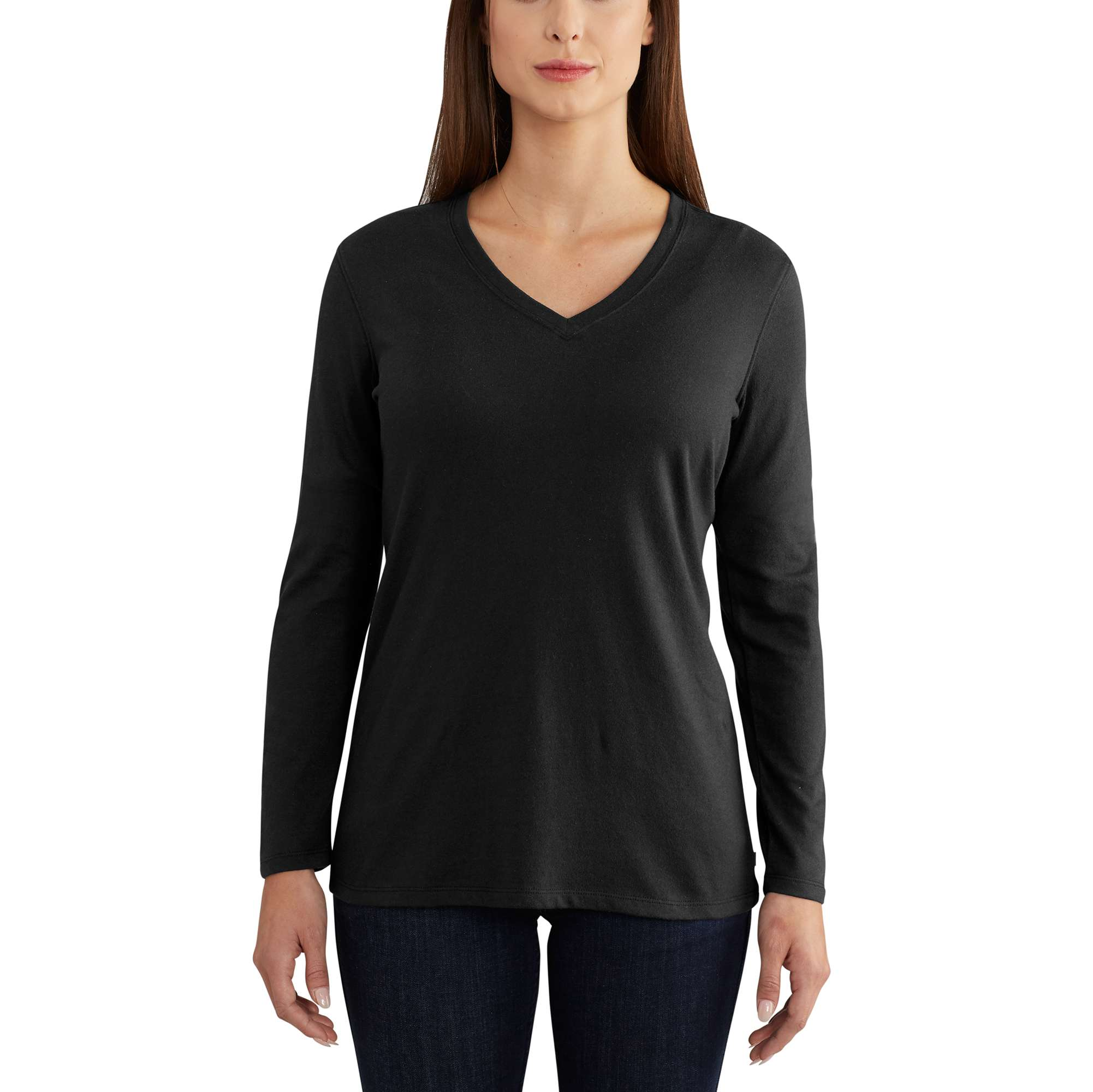 Carhartt Lockhart Long Sleeve V-Neck T-Shirt