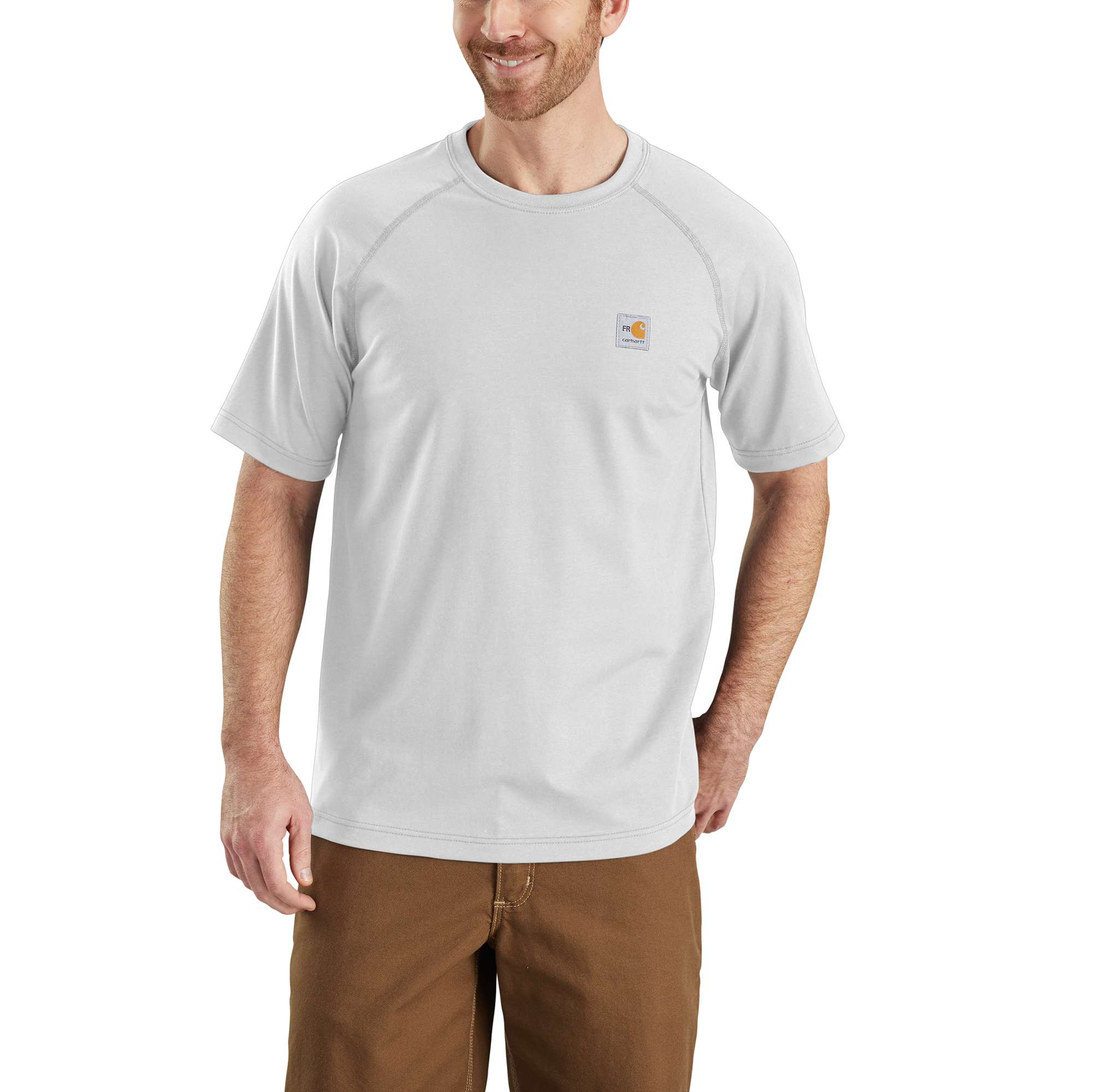Flame-Resistant Carhartt Force Cotton Short-Sleeve T-Shirt