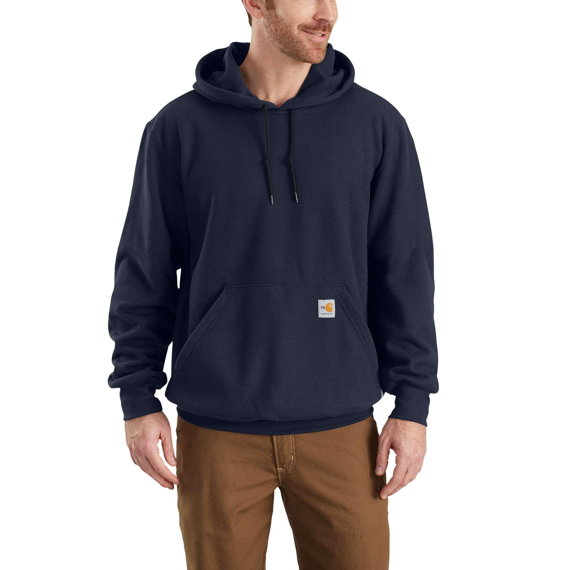 Carhartt Flame-Resistant Rain Defender Hooded Heavyweight Sweatshirt