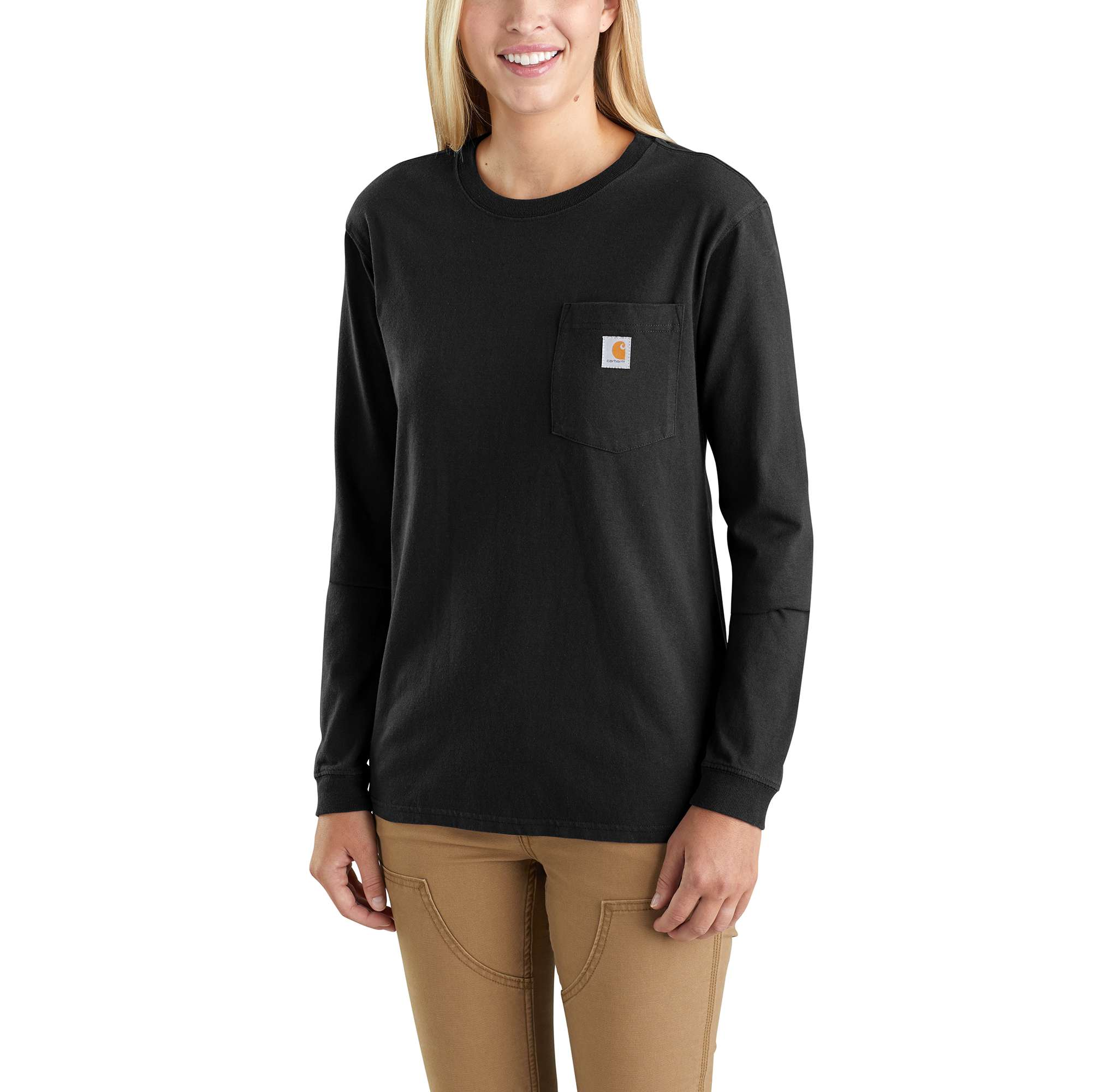 Carhartt WK126 Workwear Pocket Long-Sleeve T-Shirt