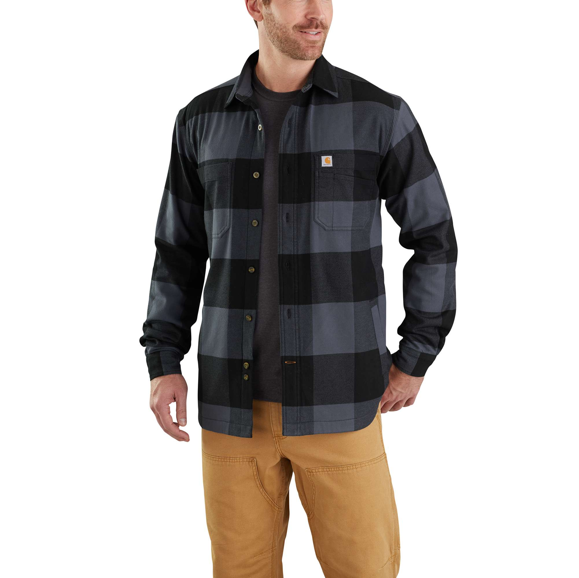 Carhartt Rugged Flex Hamilton Fleece-Lined Shirt Jac