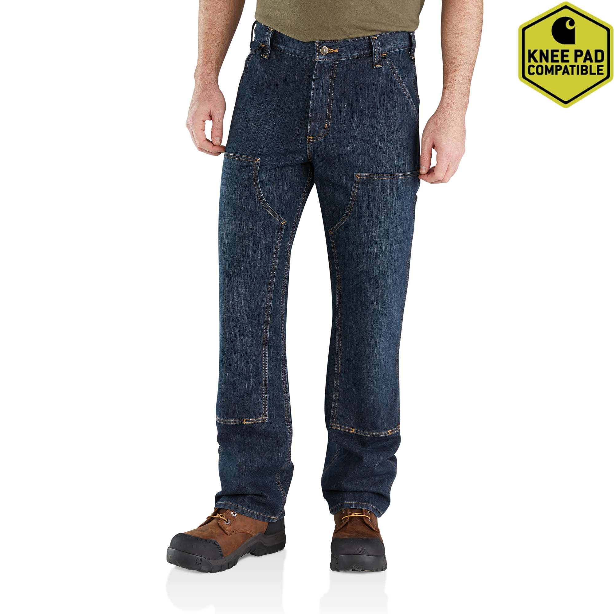 Carhartt Relaxed Fit Holter Double-Front Dungaree Jean