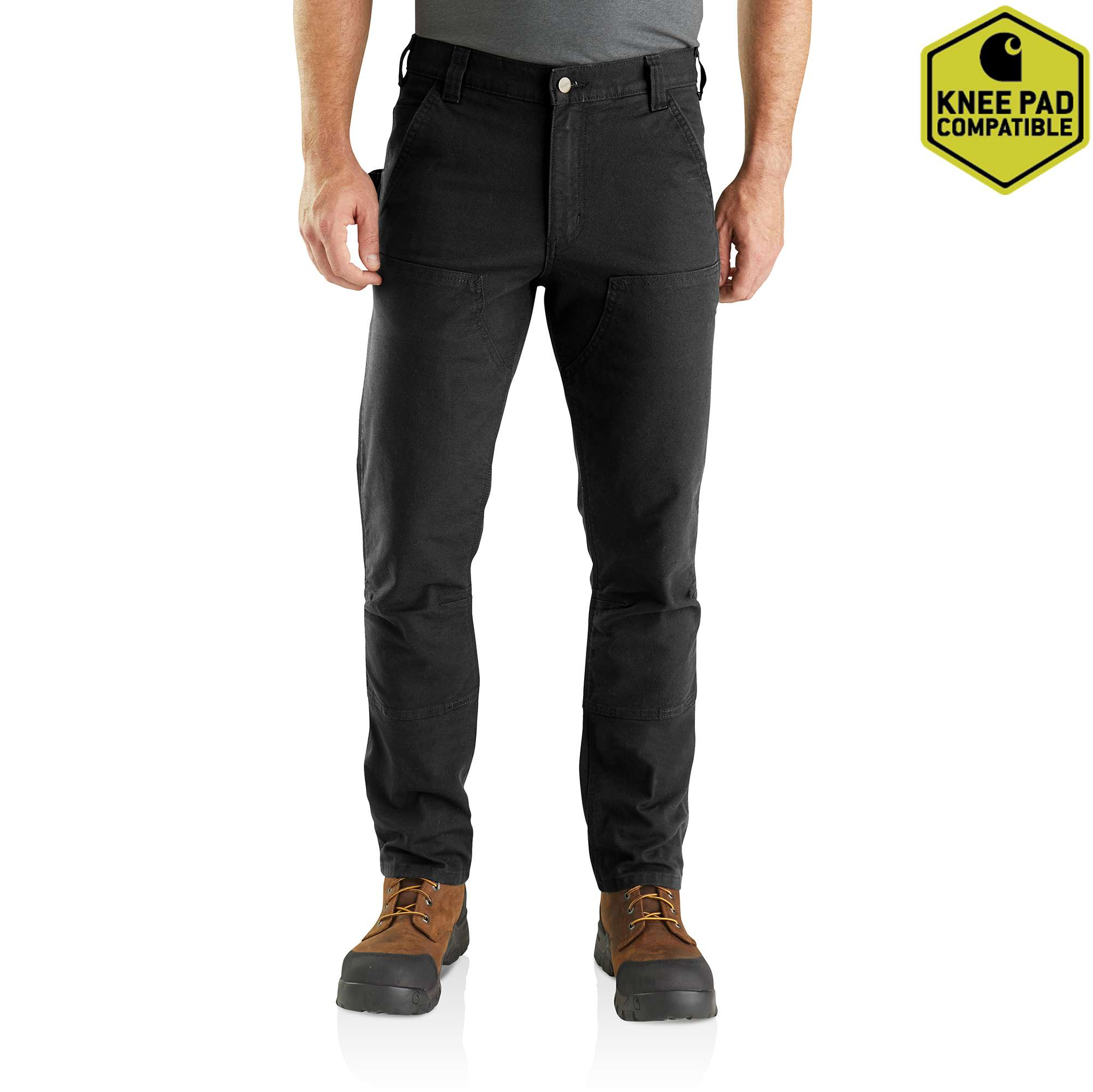 Carhartt Rugged Flex Straight Fit Duck Double Front Pants