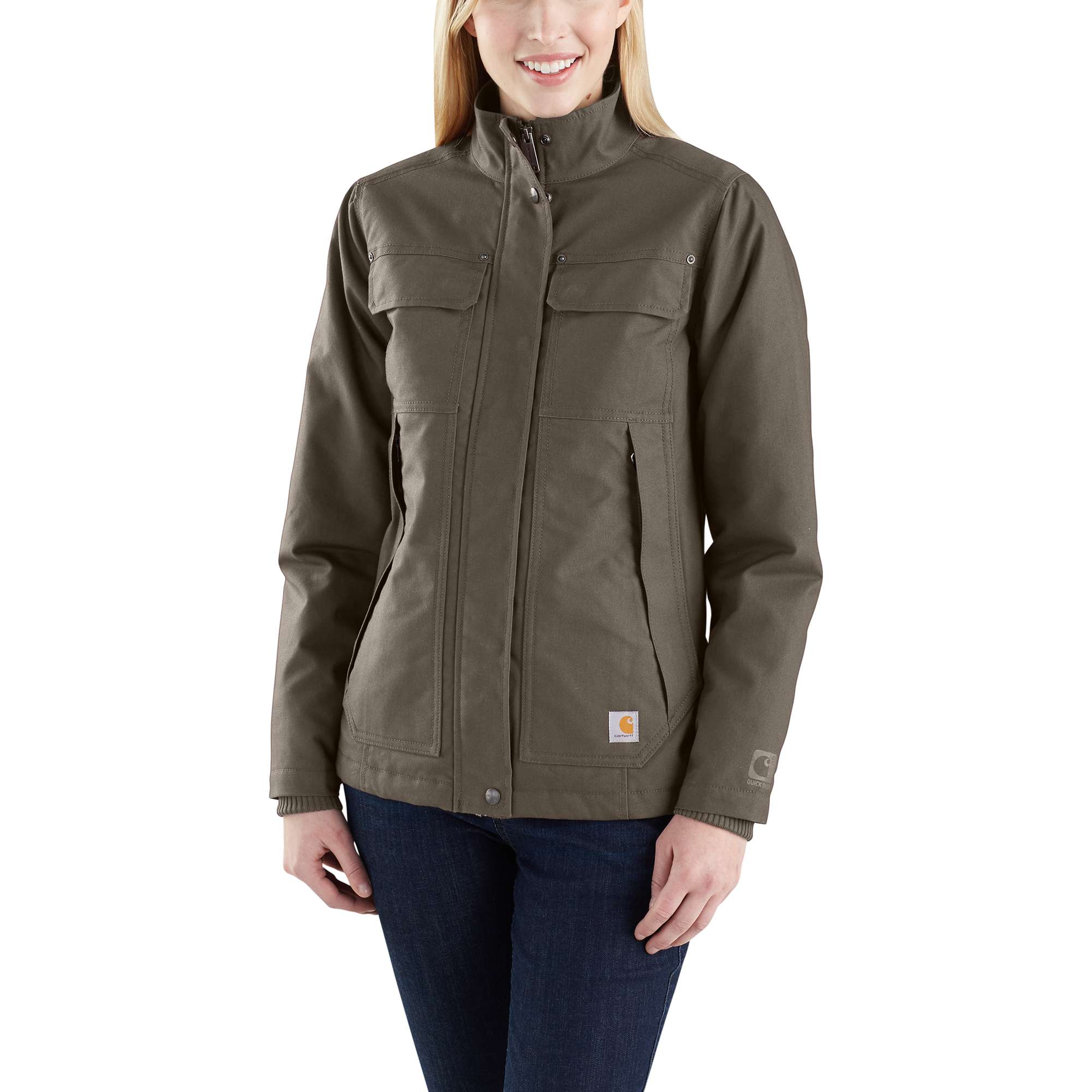 Carhartt Women's Quick Duck Jefferson Traditional Jacket Size: LG