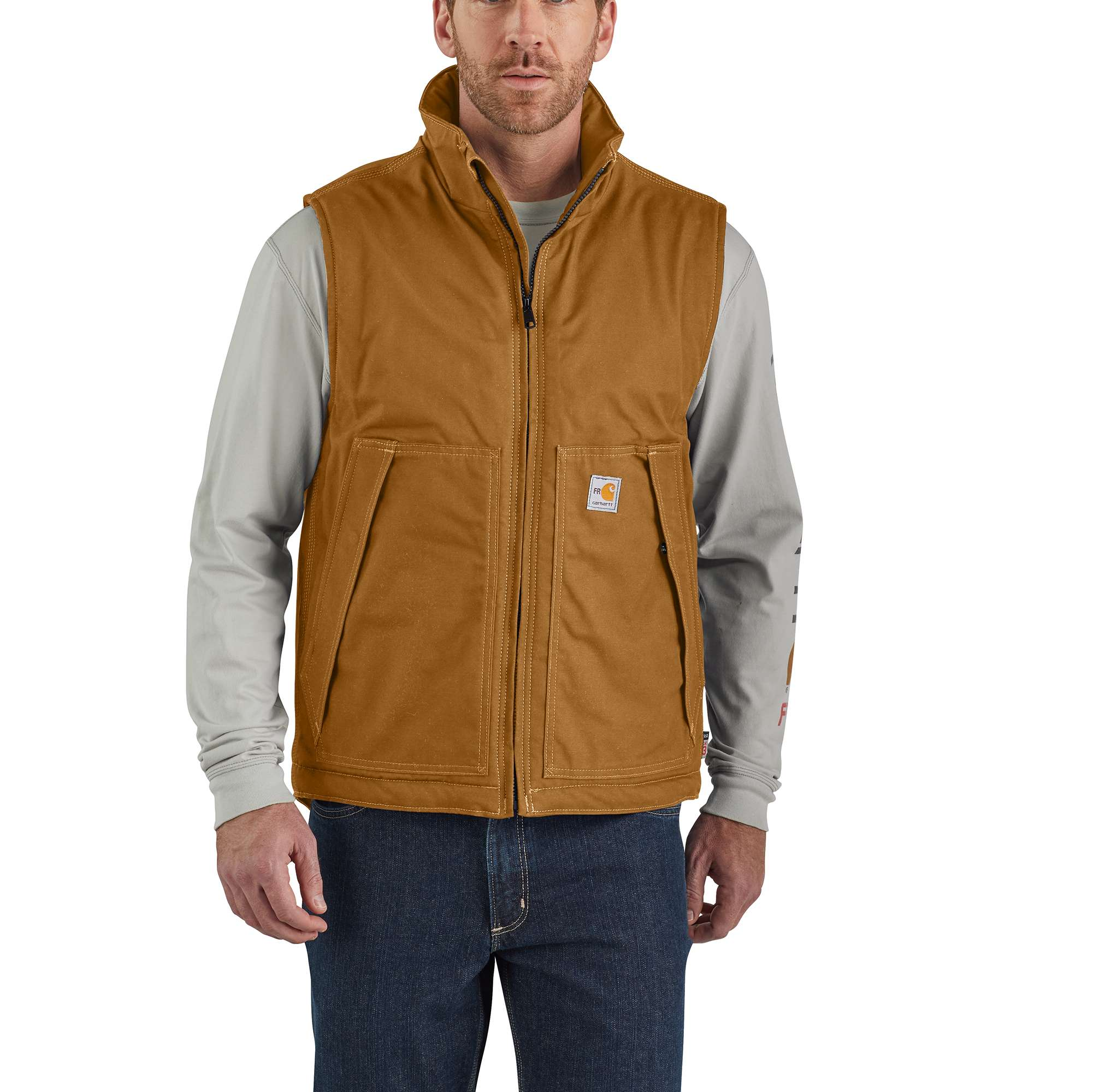 Carhartt Flame-Resistant Quick Duck Insulated Vest