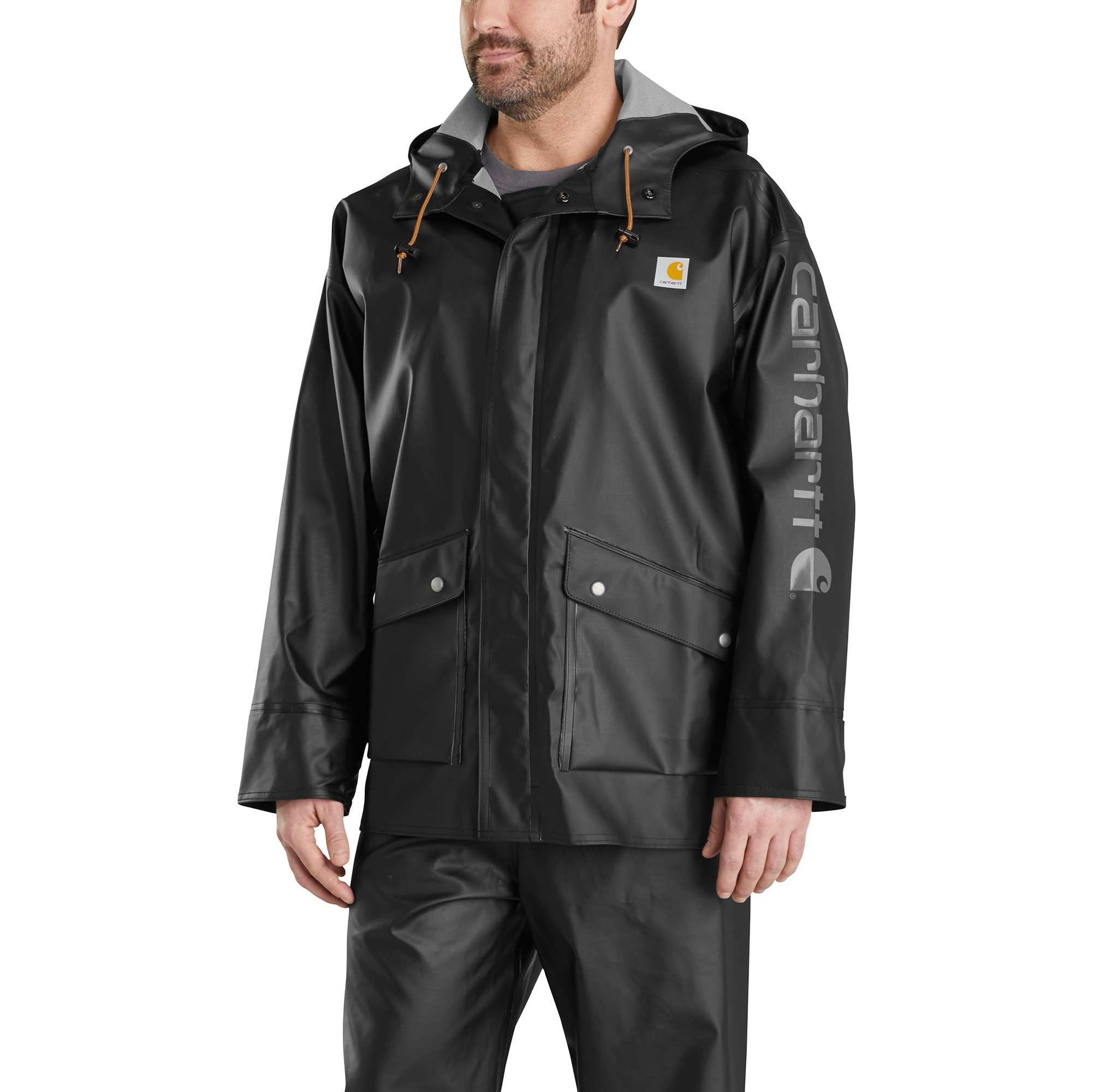 Midweight Waterproof Rainstorm Jacket