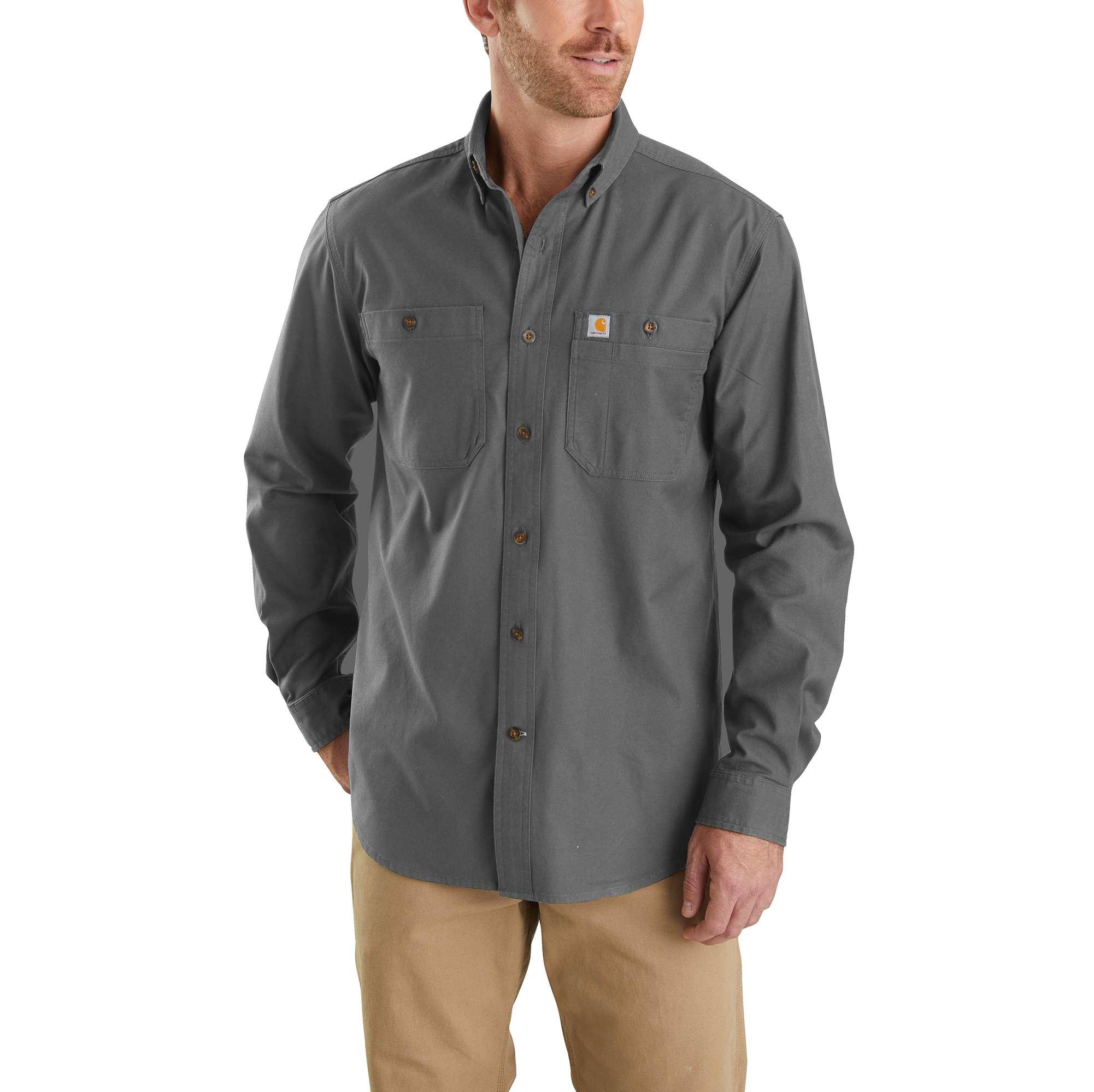 Carhartt Rugged Flex Rigby Long-Sleeve Work Shirt