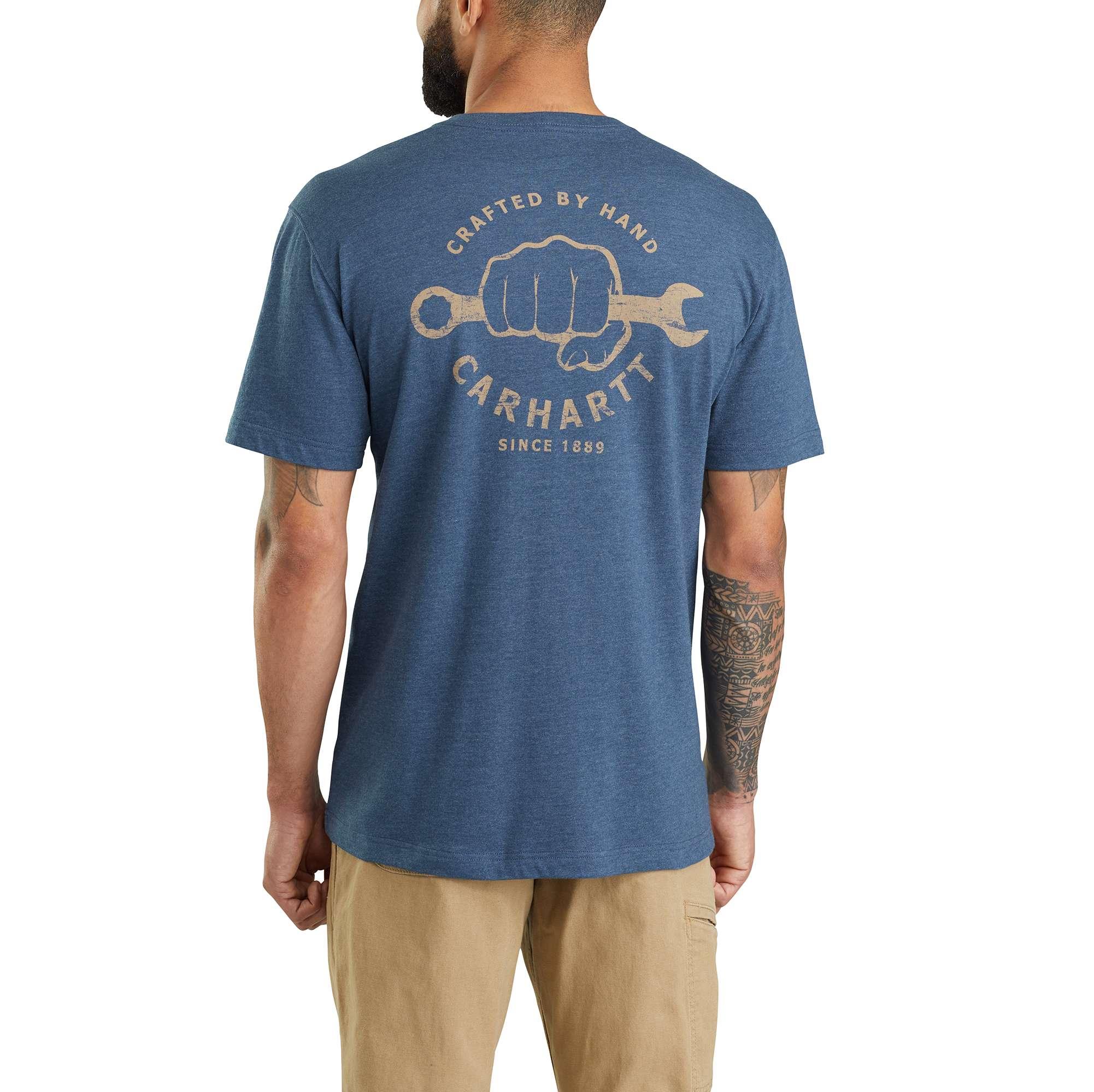 Carhartt Maddock Carhartt Strong Graphic Pocket Short-Sleeve T-Shirt