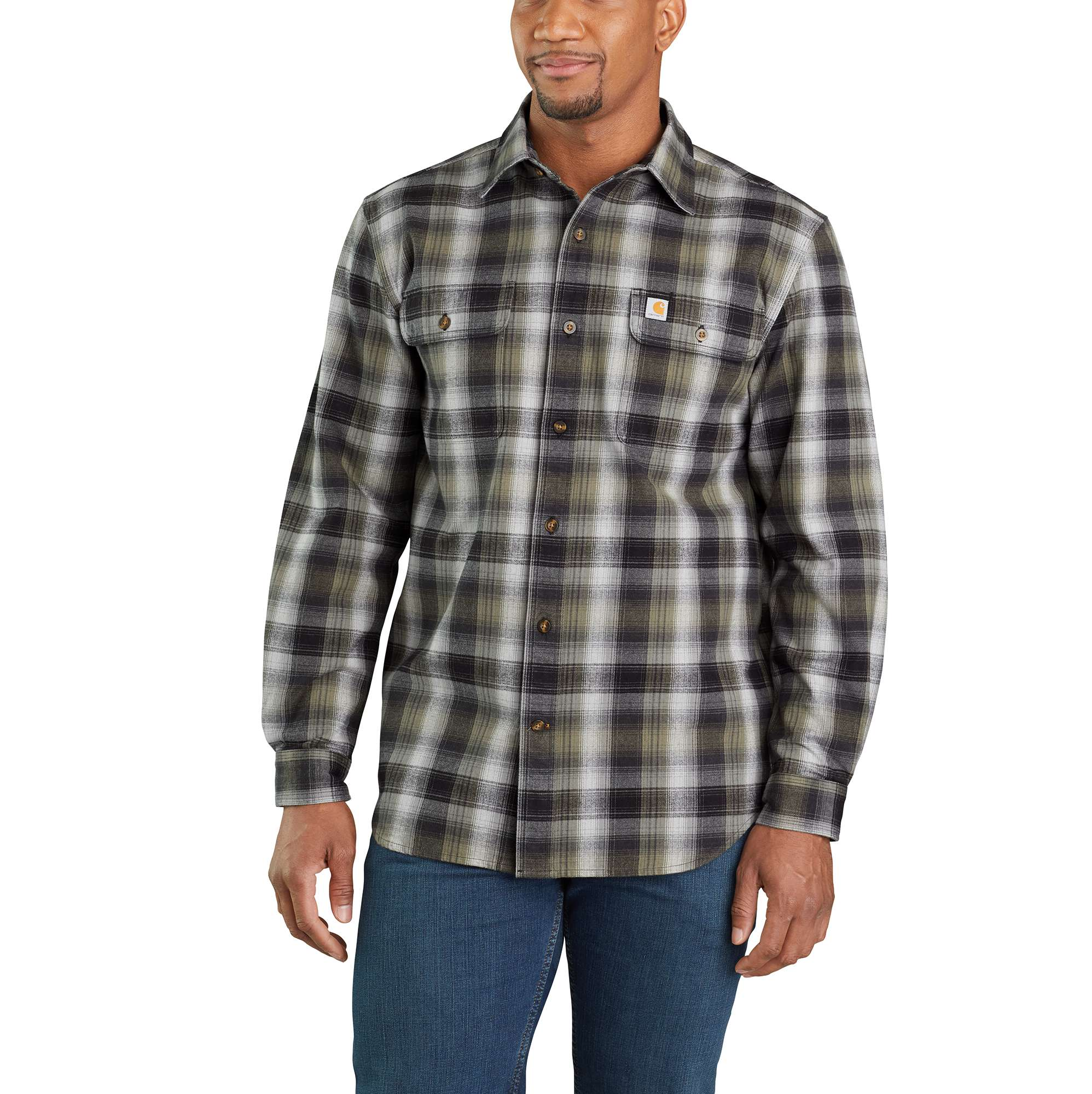 Carhartt Hubbard Plaid Flannel Shirt