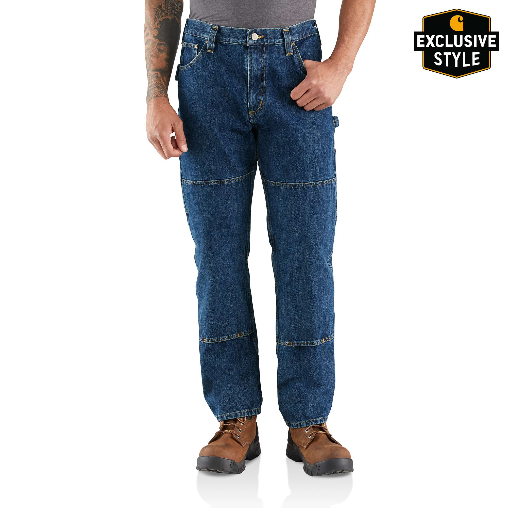 Carhartt Rugged Flex Relaxed Fit Utility Double Front Jean