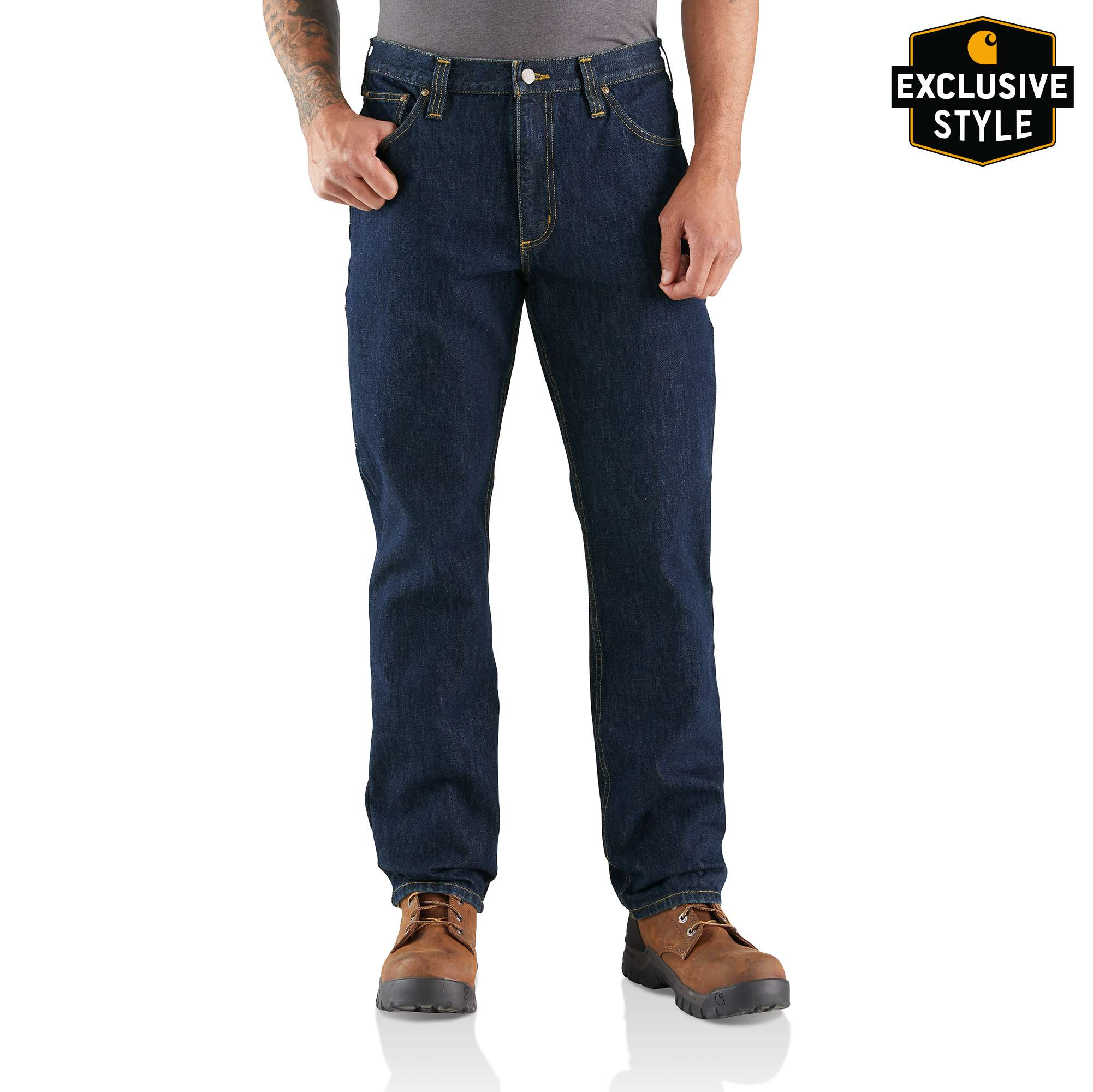 Carhartt Rugged Flex Relaxed Fit Utility Five Pocket Jean