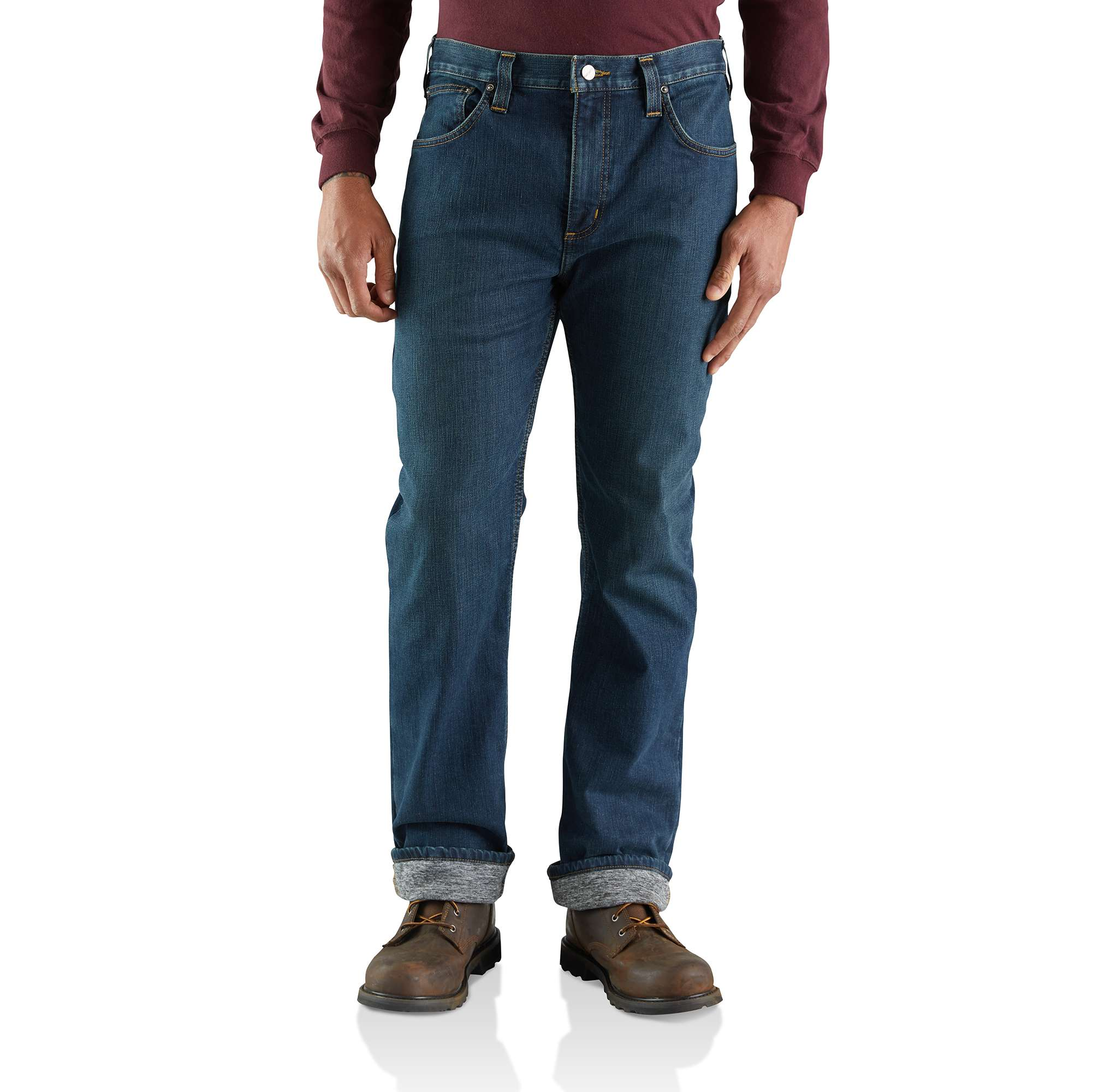 Carhartt Rugged Flex Relaxed Straight Jean Knit-Lined