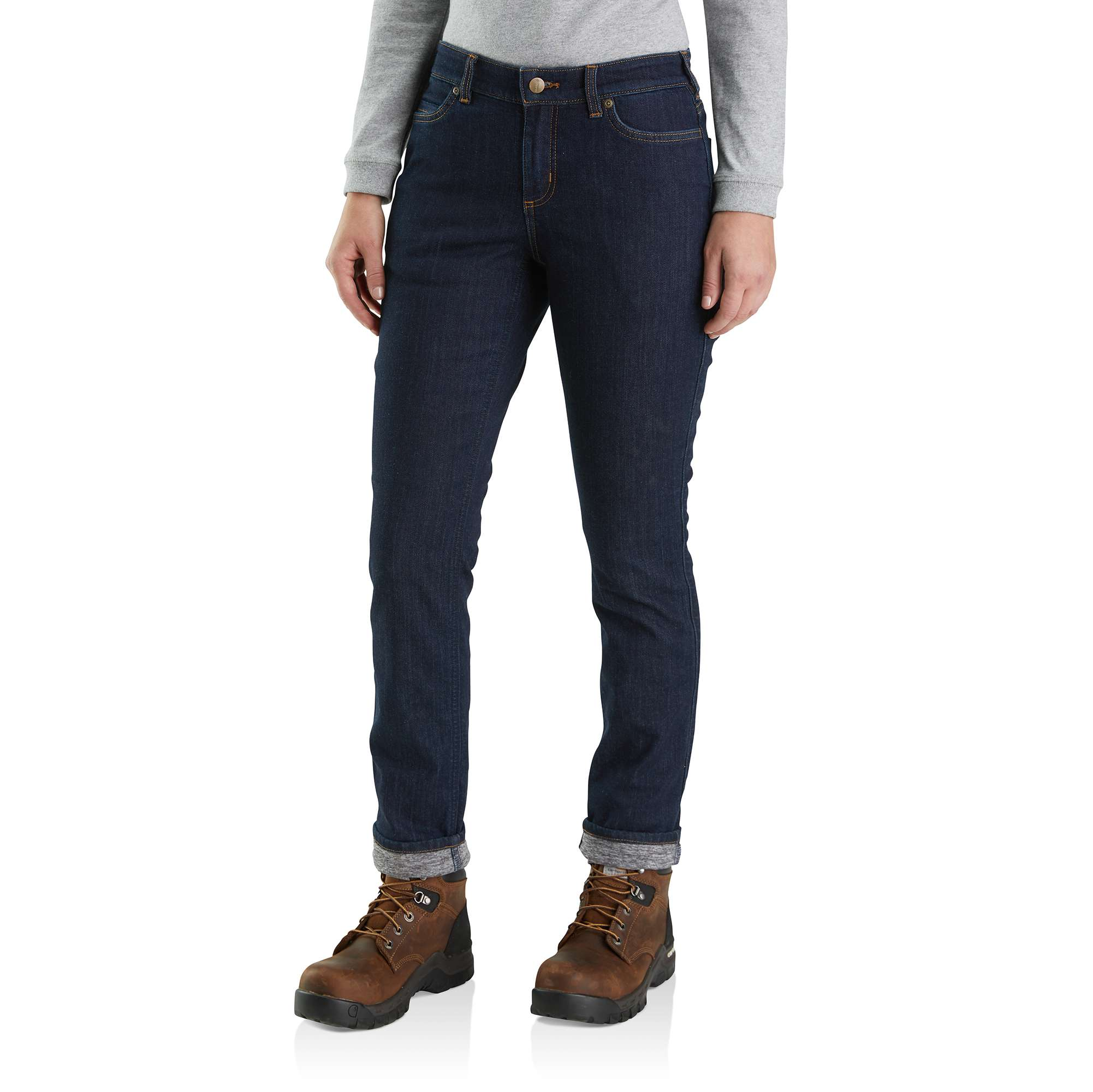 Carhartt Straight Leg Lined Jean