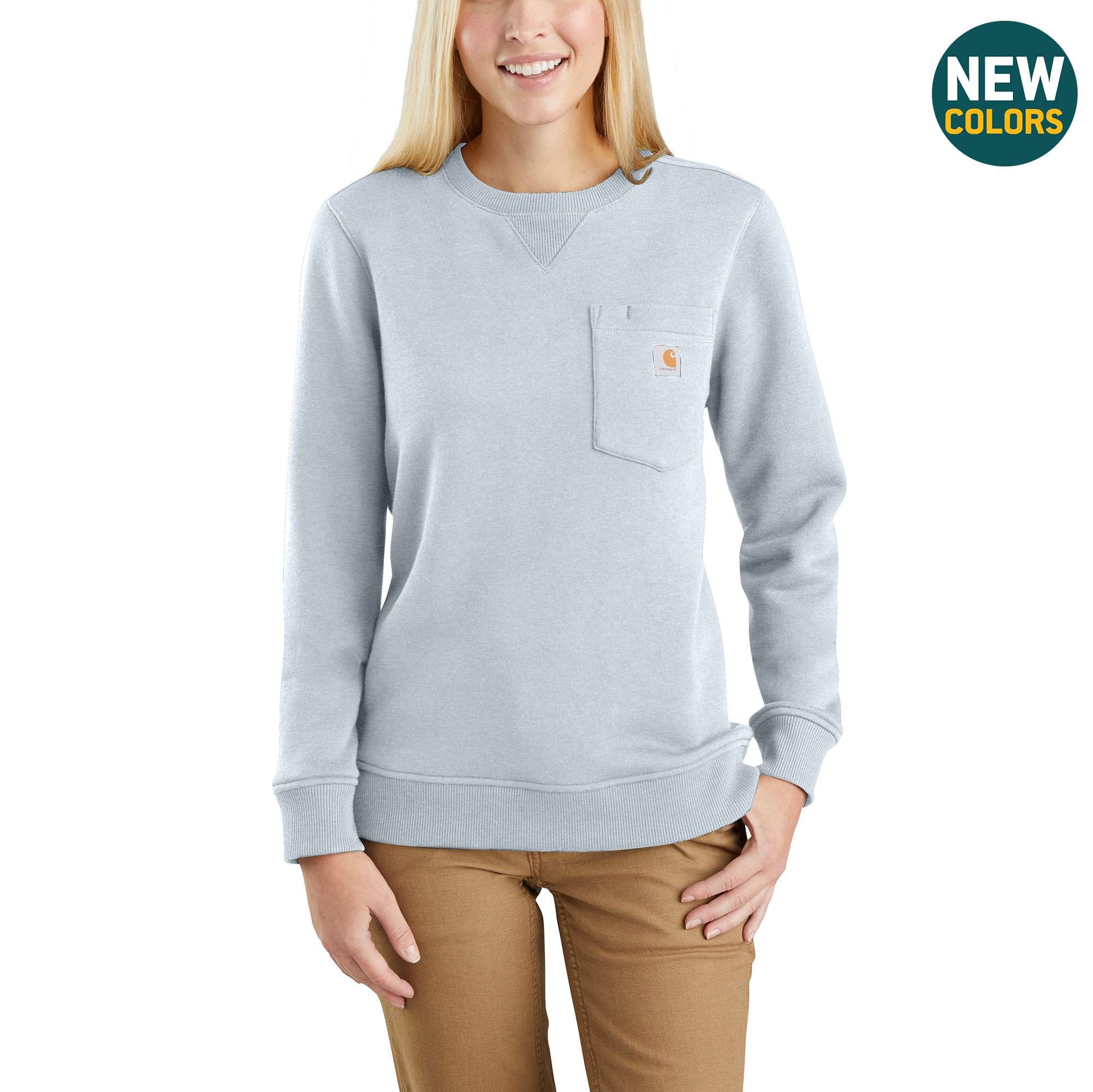 Carhartt Clarksburg Crewneck Pocket Sweatshirt