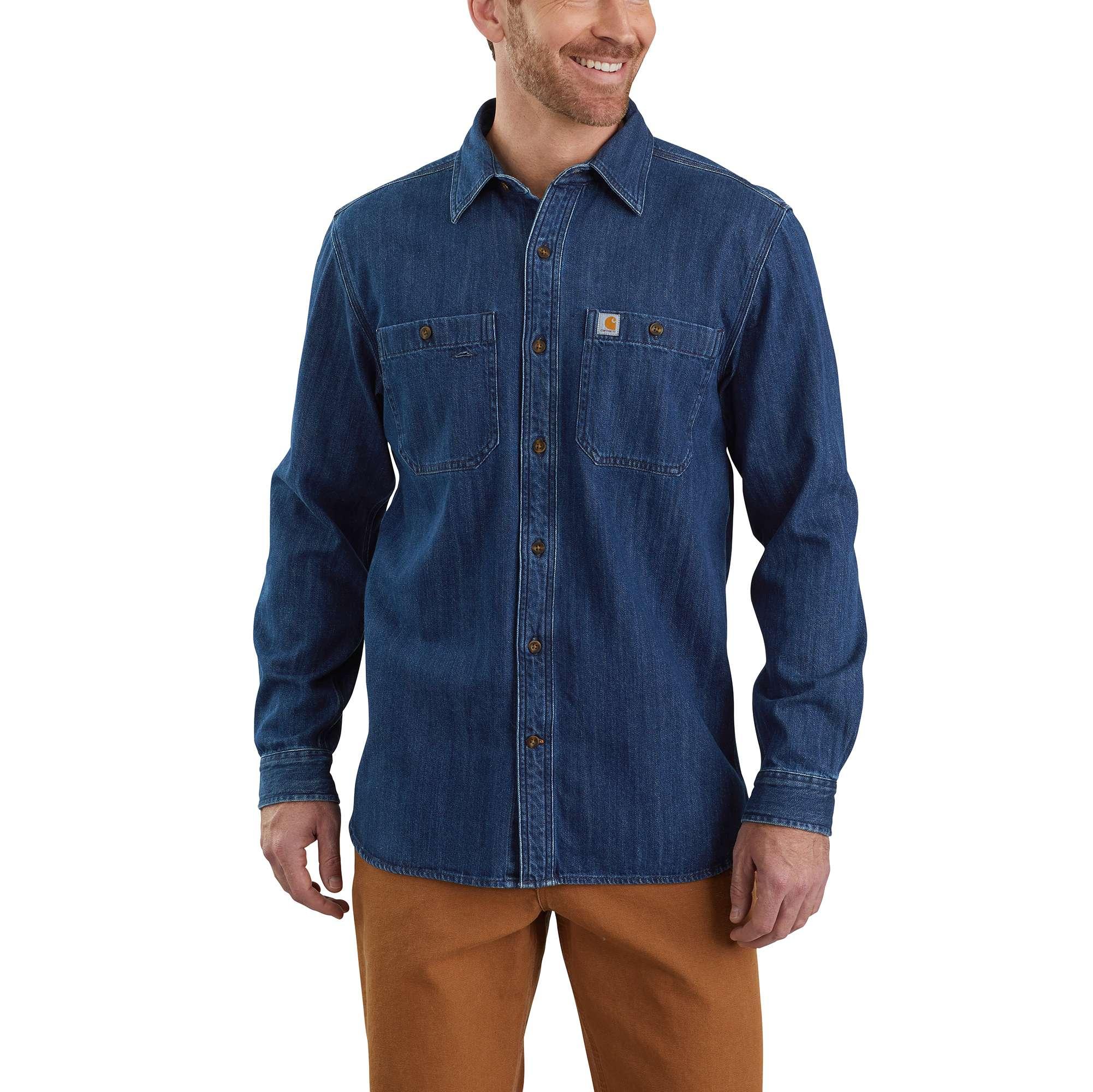 Carhartt Denim Long-Sleeve Shirt