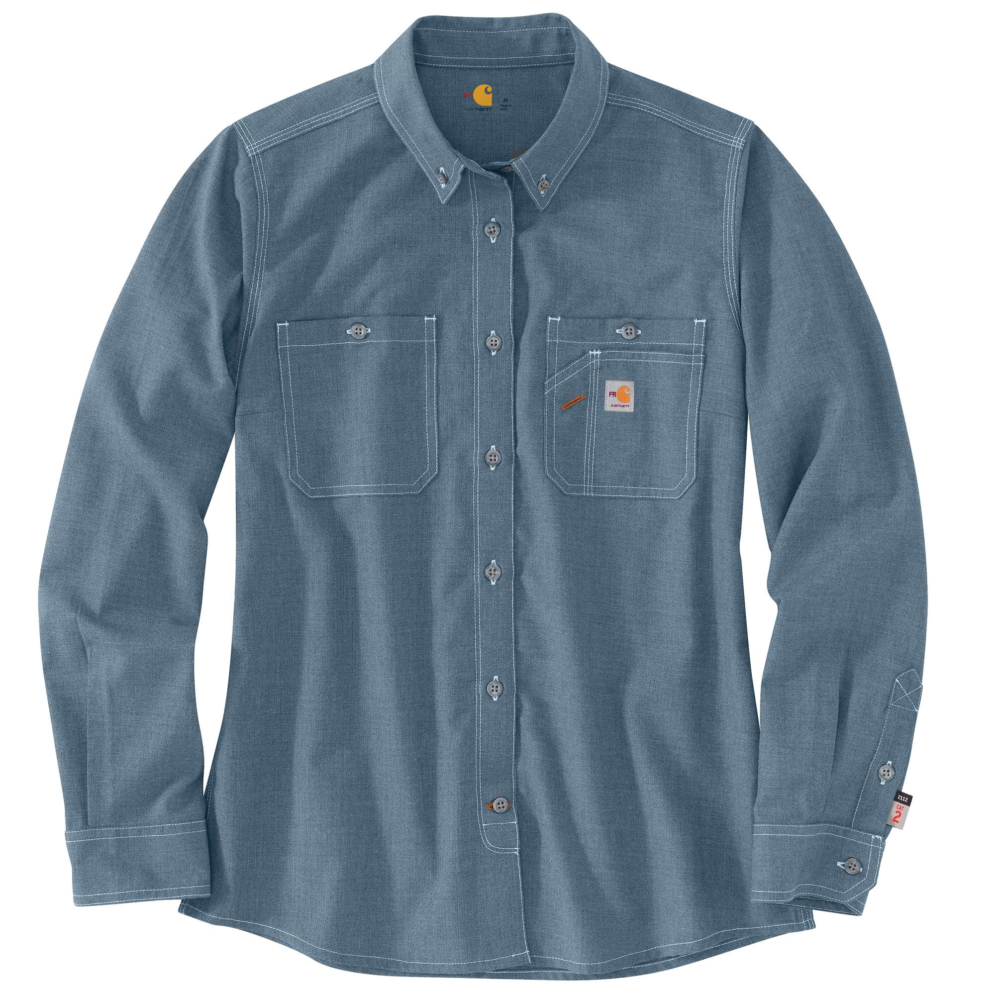 Carhartt FR Force Relaxed Fit Lightweight Long-Sleeve Button Front Shirt