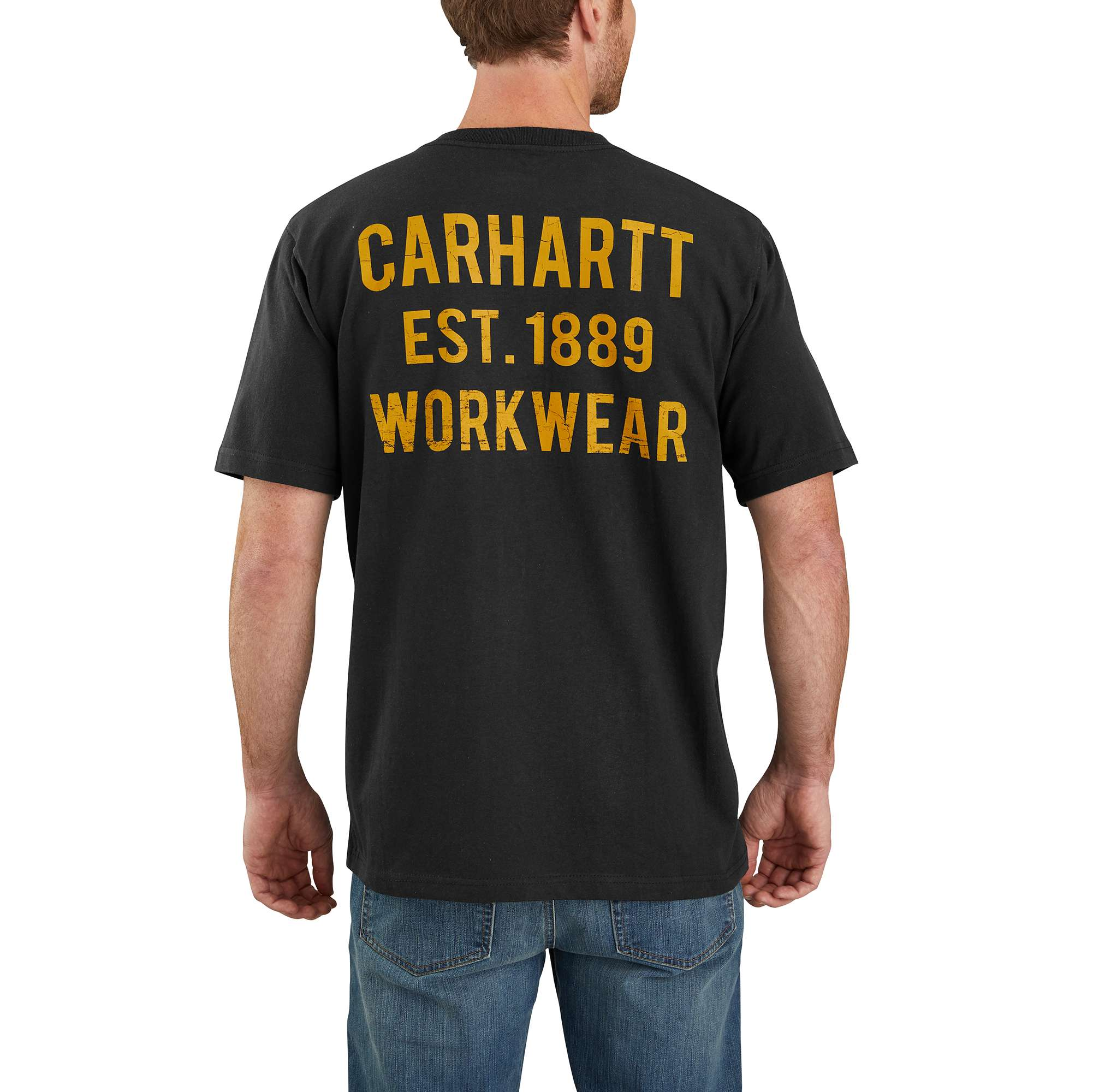Original Fit Heavyweight Short-Sleeve Pocket Workwear Graphic T-Shirt
