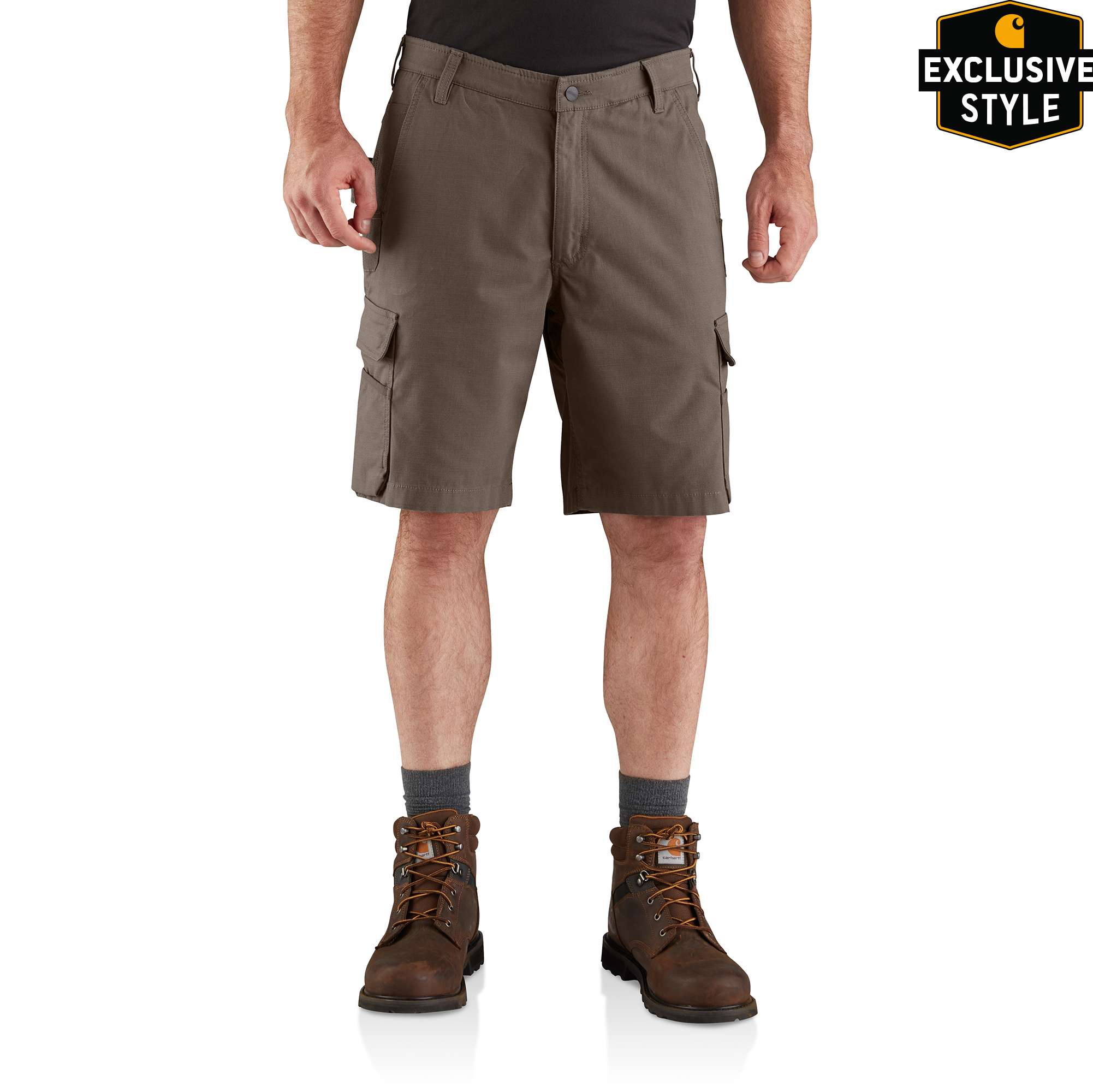 Carhartt Steel Rugged Flex Relaxed Fit Utility Cargo Short