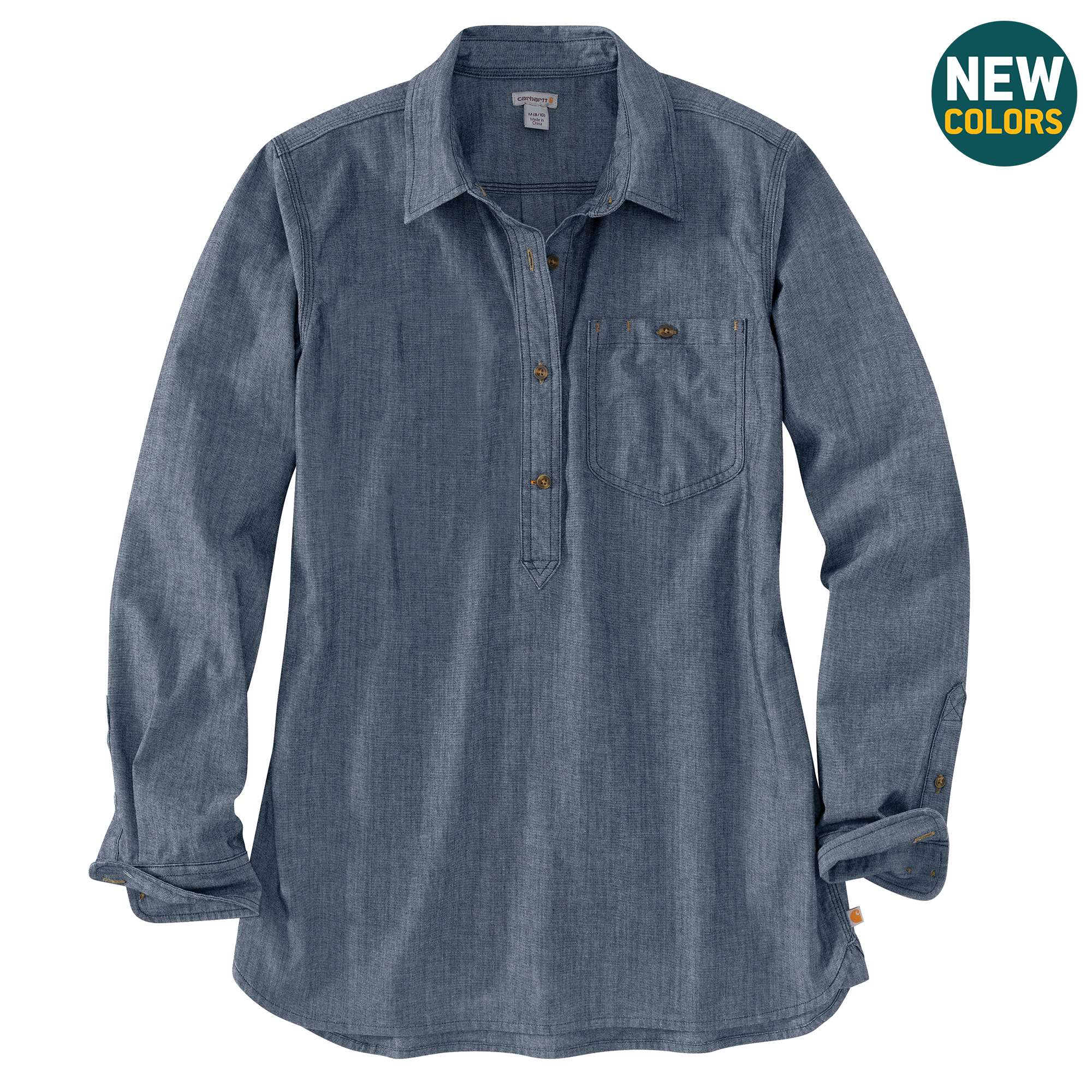Rugged Flex Relaxed Fit Long-Sleeve Shirt