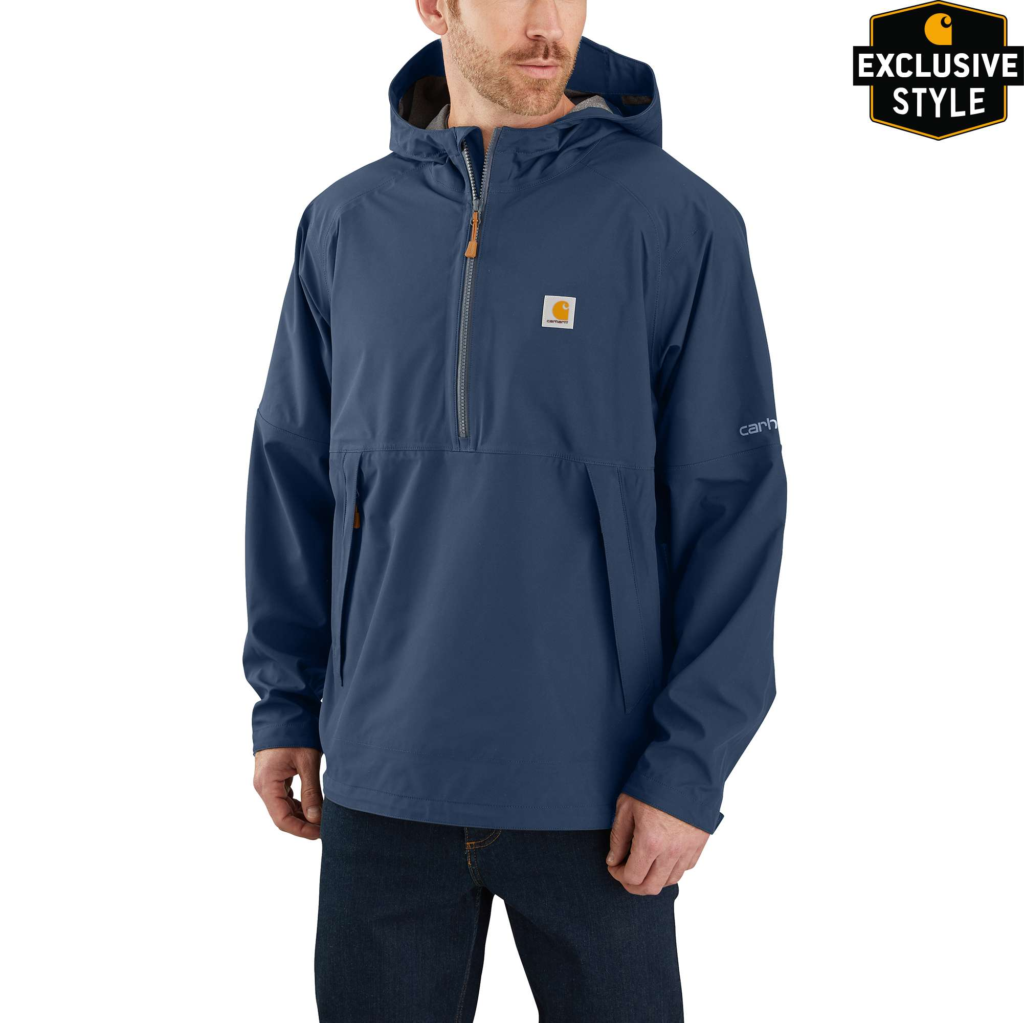 Carhartt Storm Defender Jersey-Lined Hooded Anorak