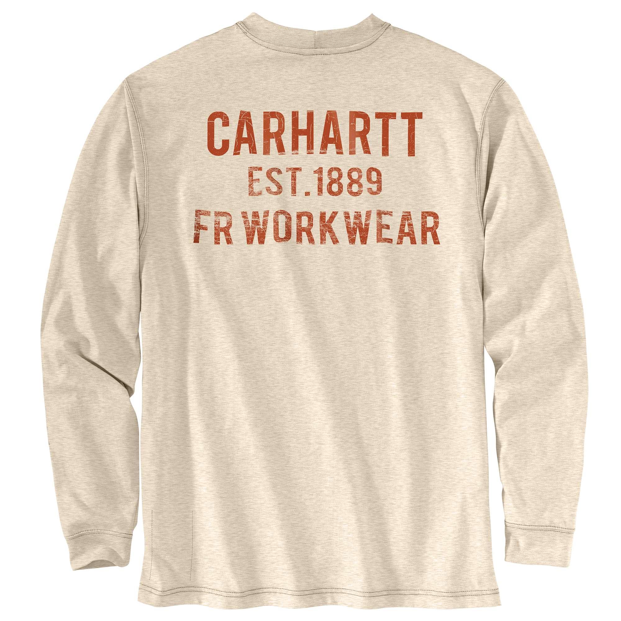 Carhartt FR Force Org Fit LS Graphic Tshirt