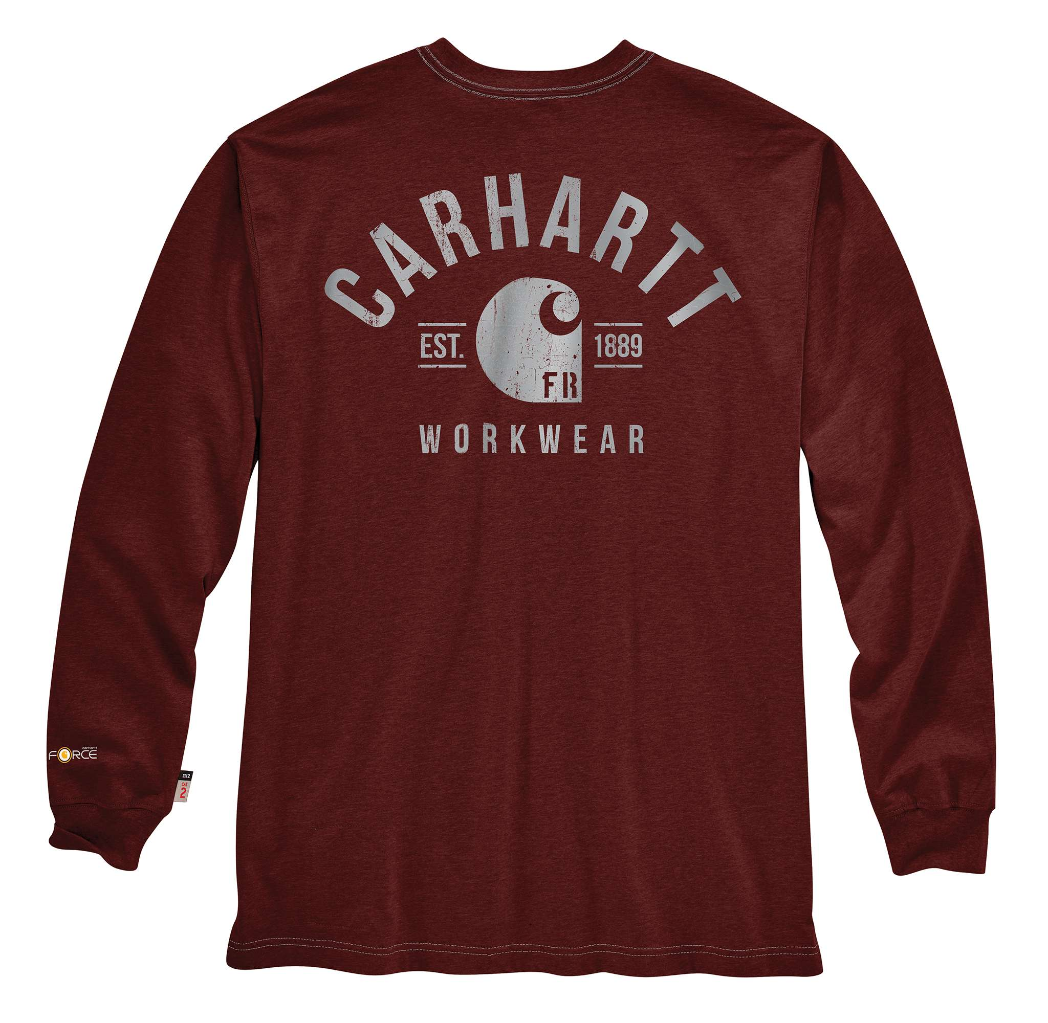 Carhartt Force Original Fit Long-Sleeve Graphic T-Shirt