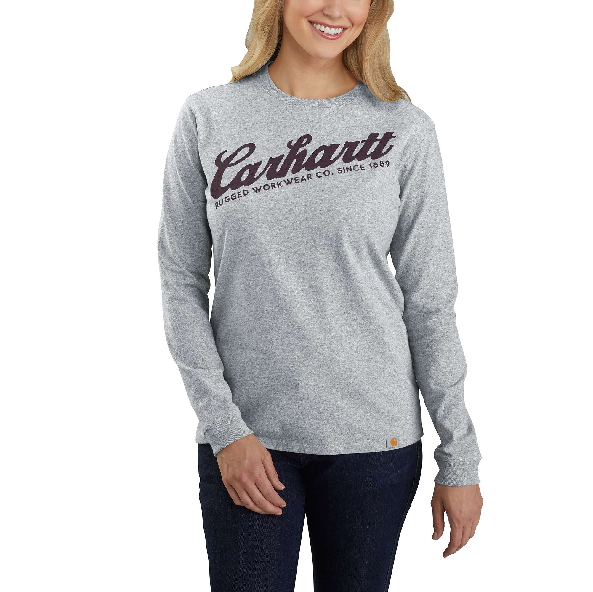 Carhartt Original Fit Heavyweight Long-Sleeve Carhartt Graphic T-Shirt